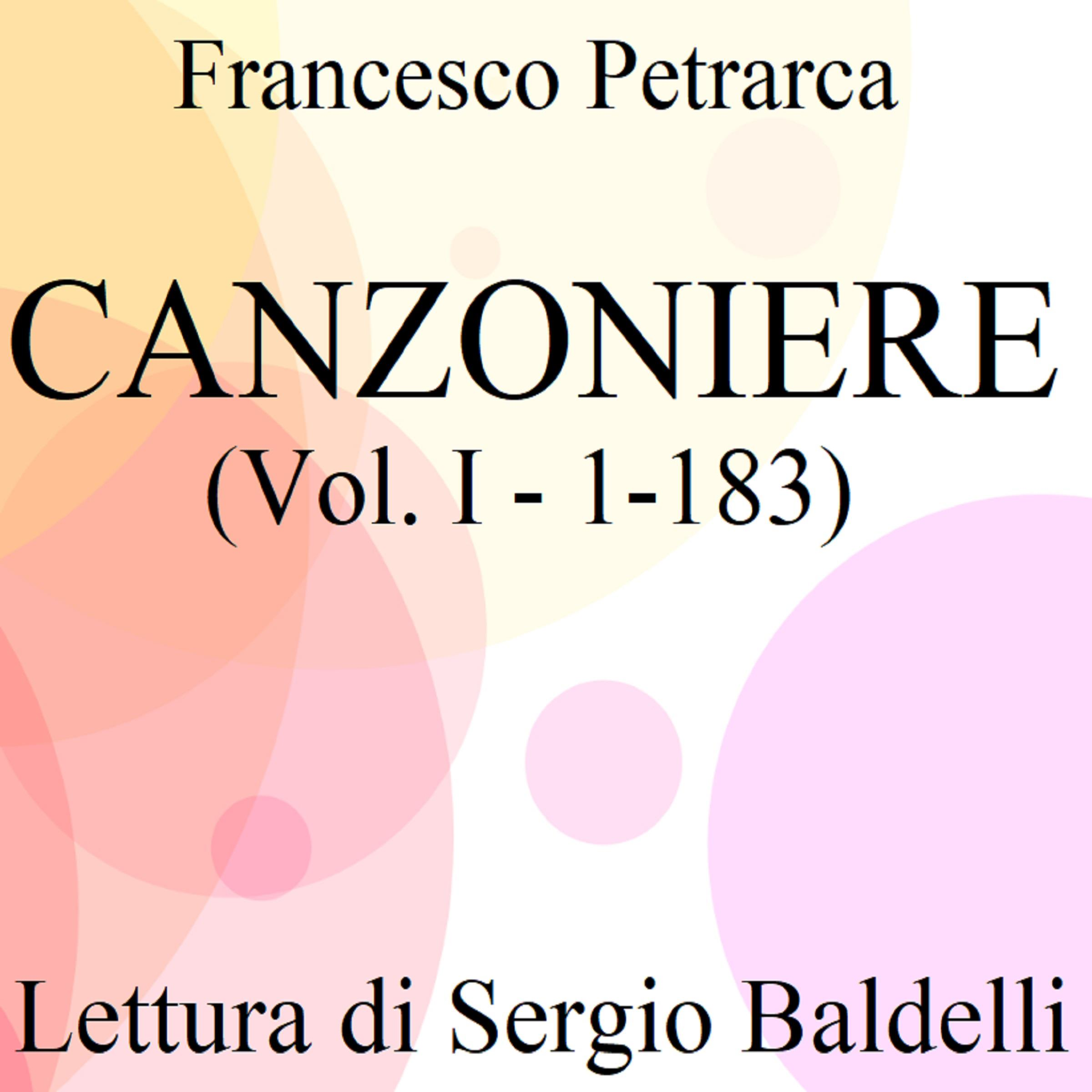 Canzoniere vol. I (1-183)