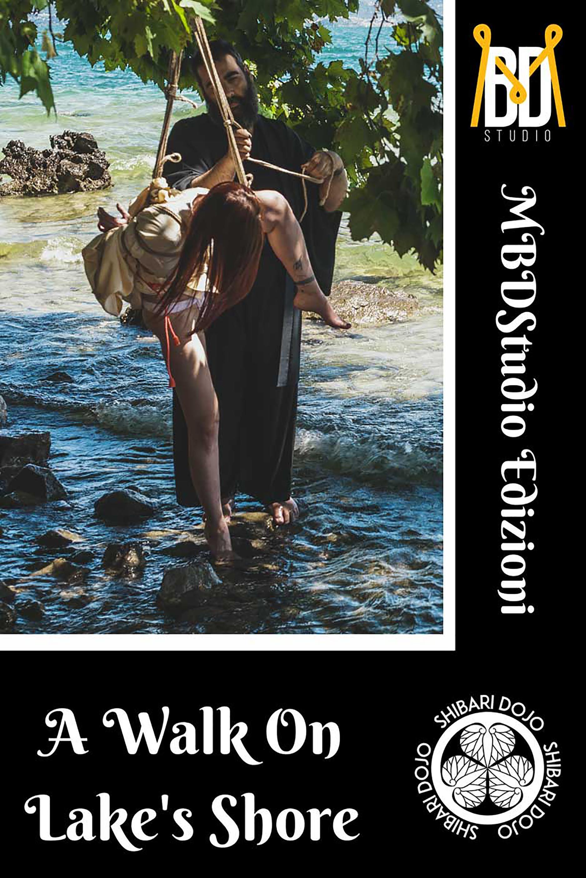 A Walk On Lake Shore - A Shibari Project by MBDStudio