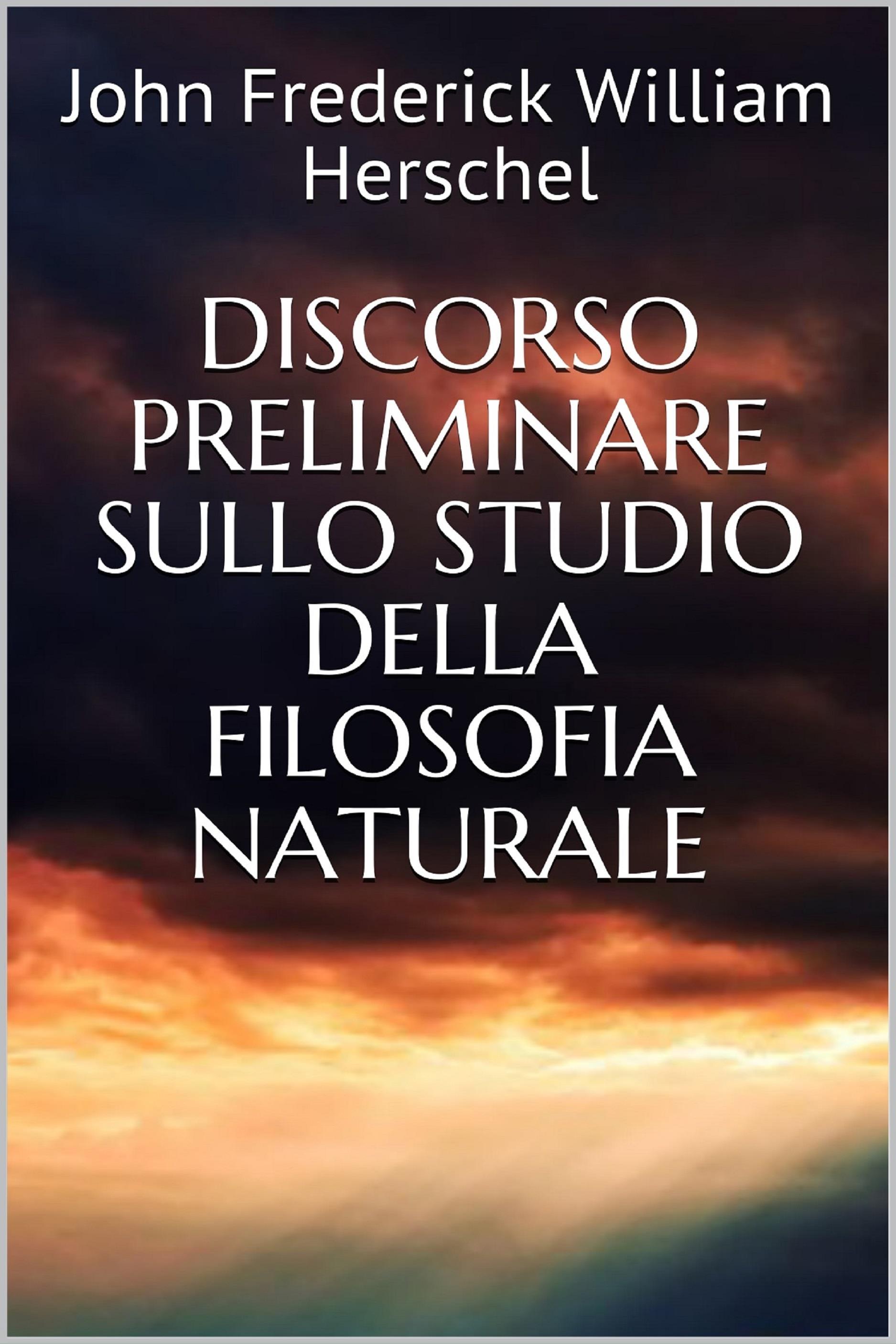 Discorso preliminare sullo studio della filosofia naturale