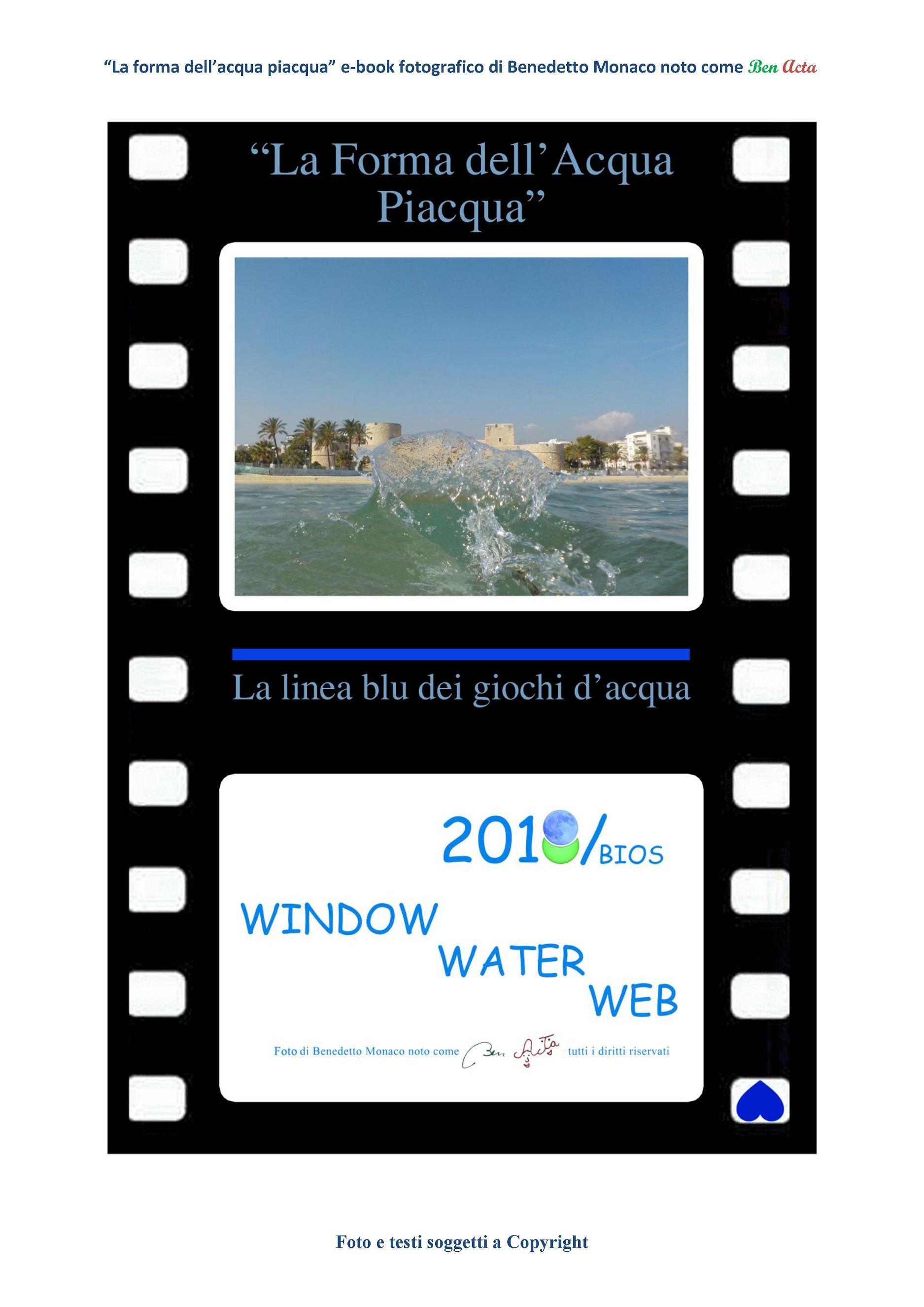 La forma dell'acqua piacqua