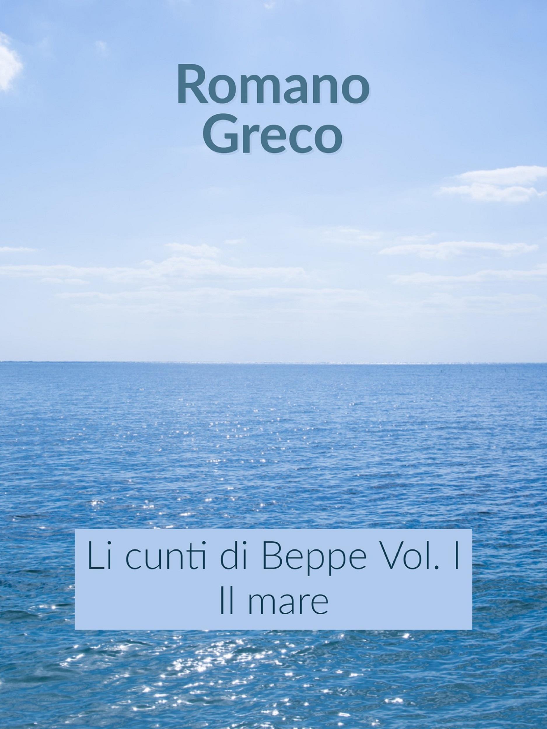 Li cunti di Beppe - Vol. I - Il mare
