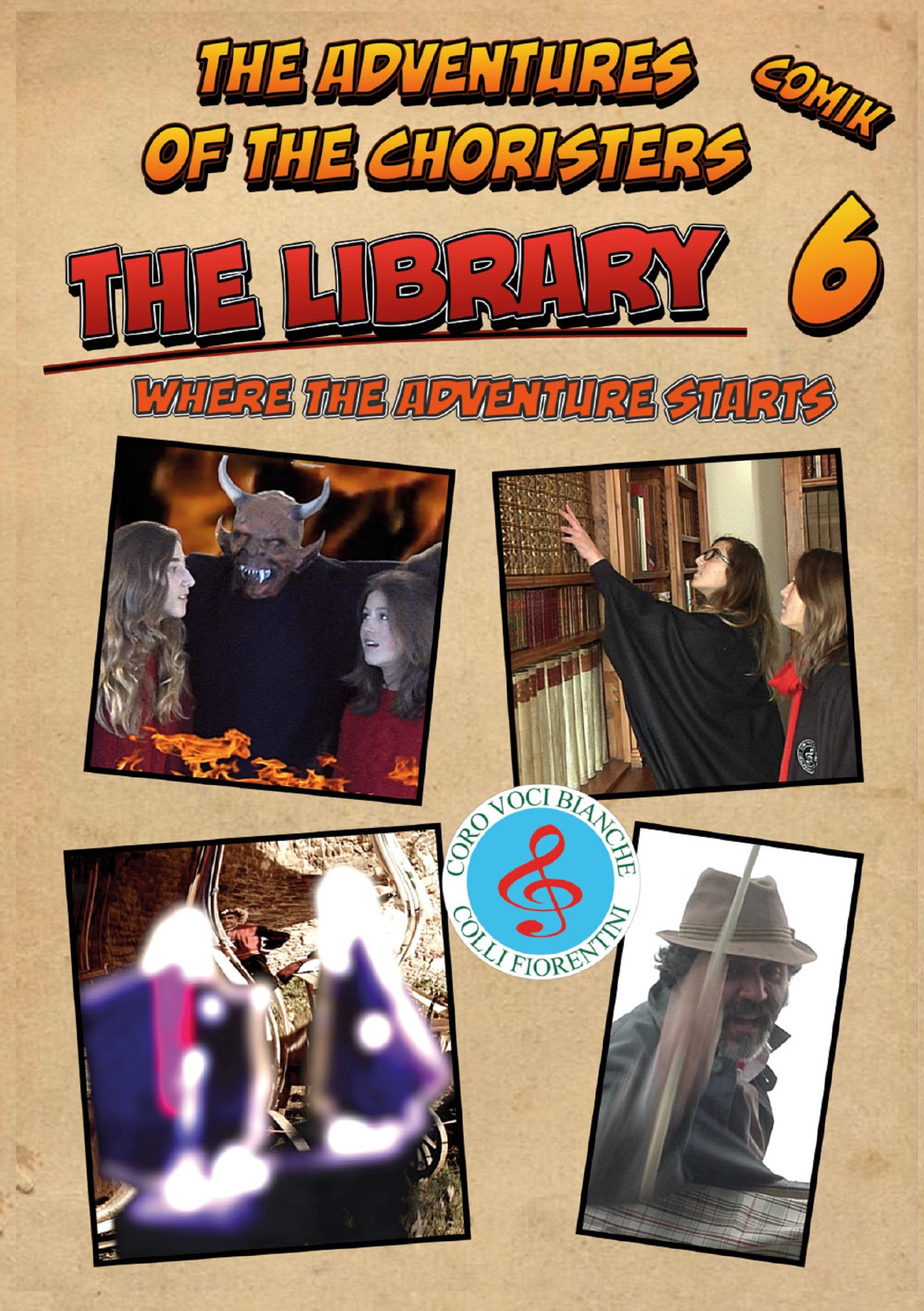 The Adventures of the Choristers, Comik - The Library
