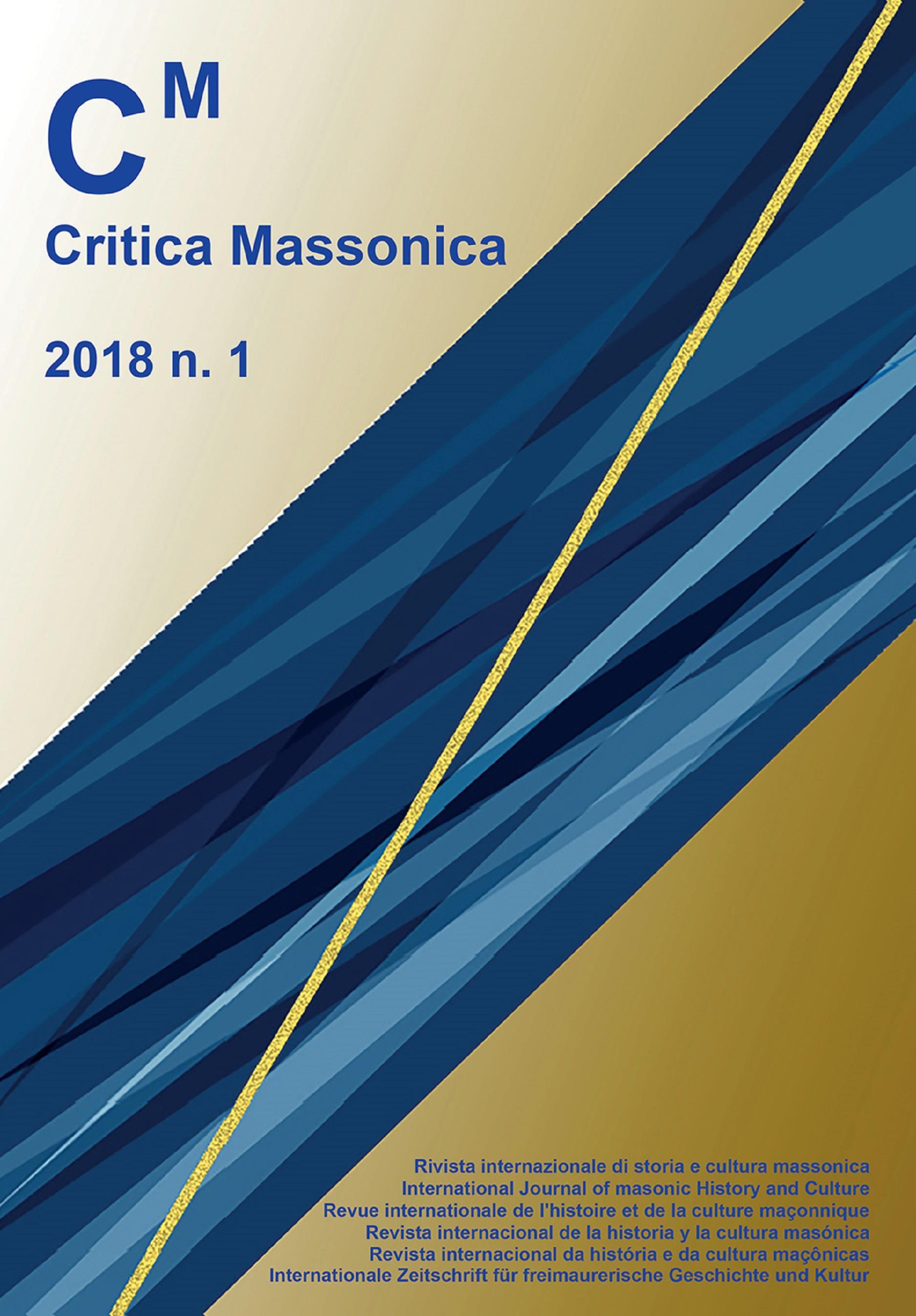 Critica massonica N. 1