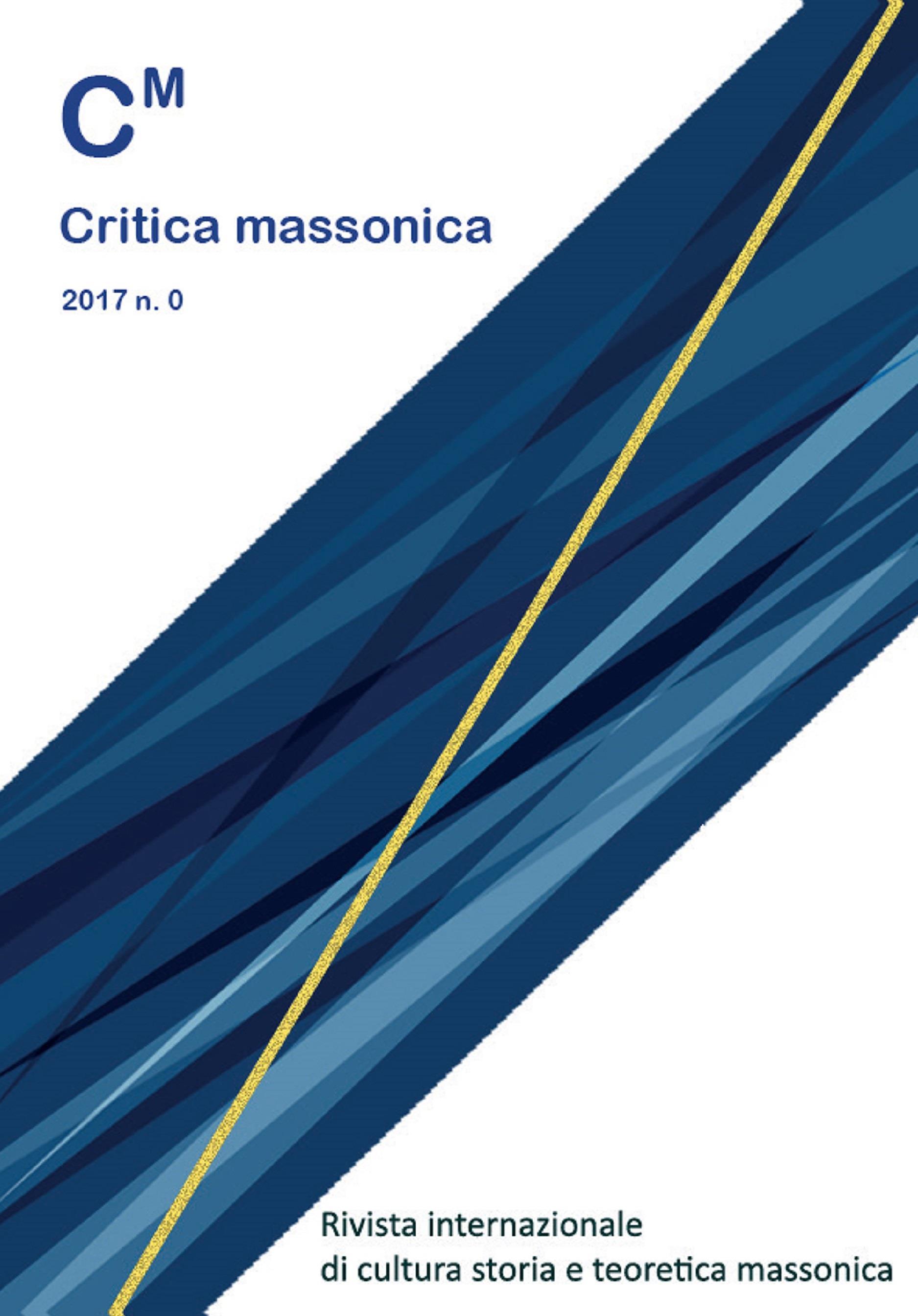 Critica Massonica n. 0