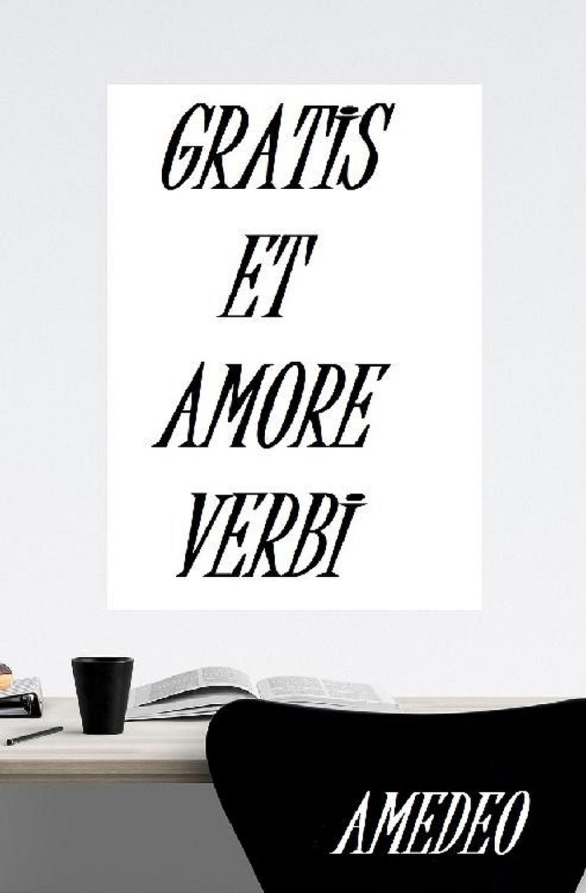 Gratis et amore verbi