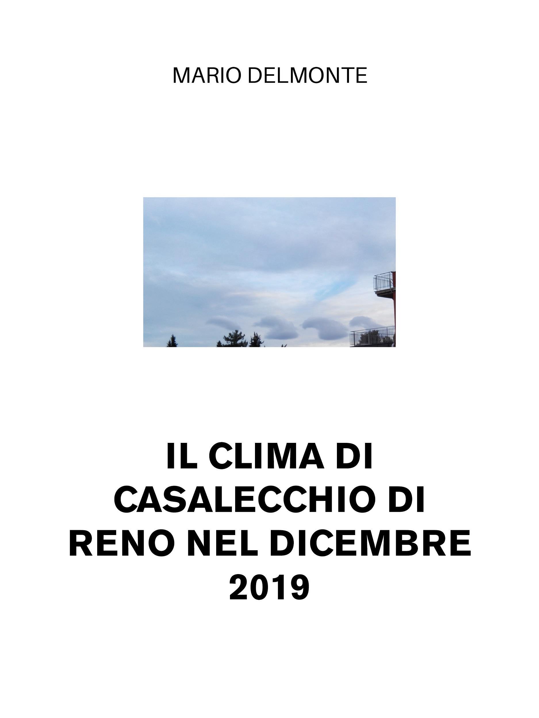 Il Clima Di Casalecchio Di Reno Nel Dicembre 2019