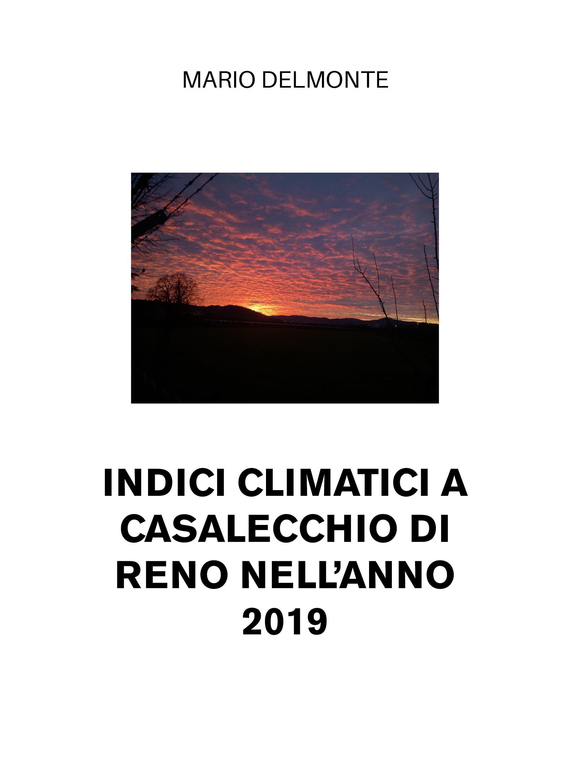 Indici climatici a Casalecchio di Reno nell'anno 2019