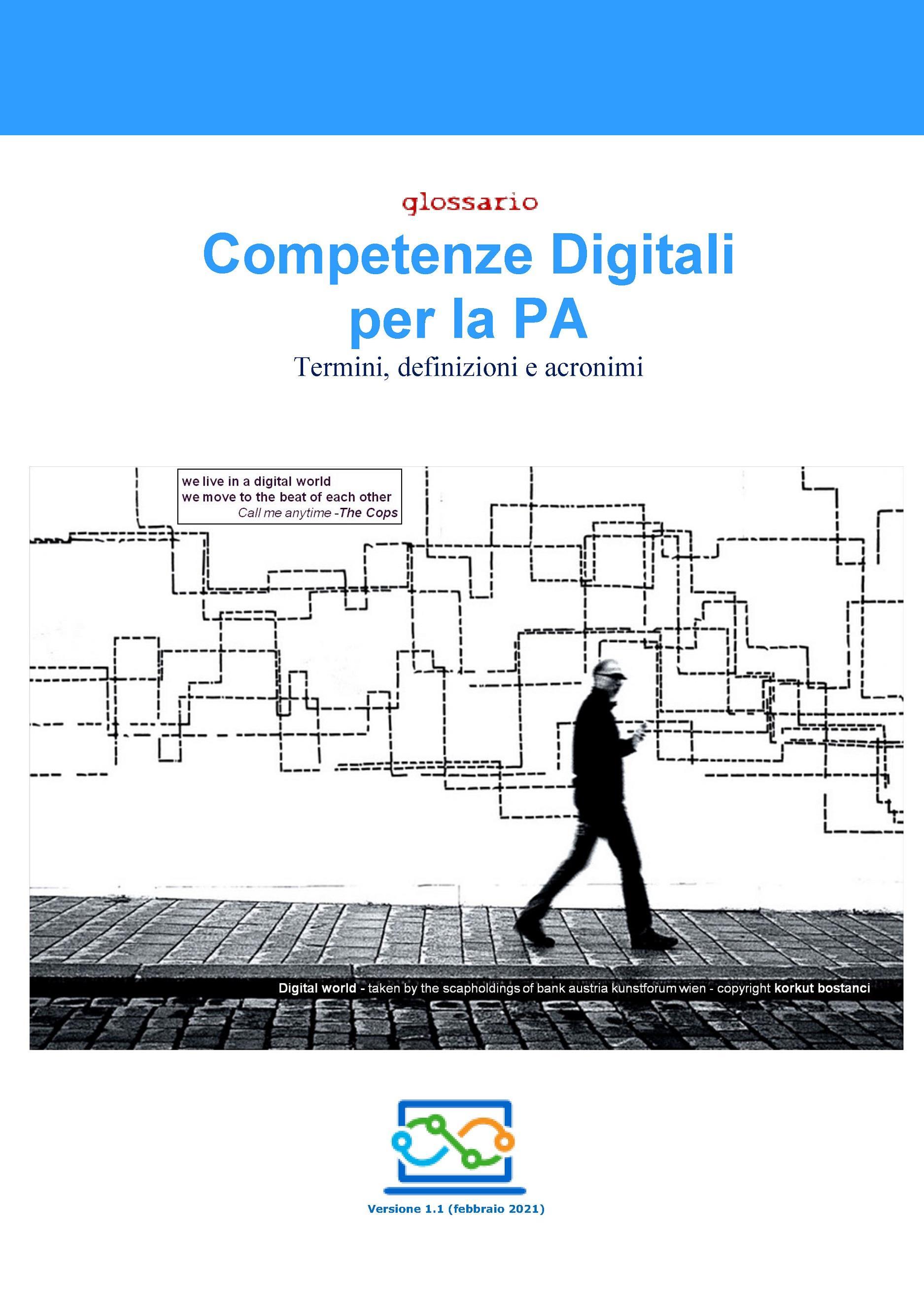 Competenze Digitali per la PA - Termini, definizioni e acronimi