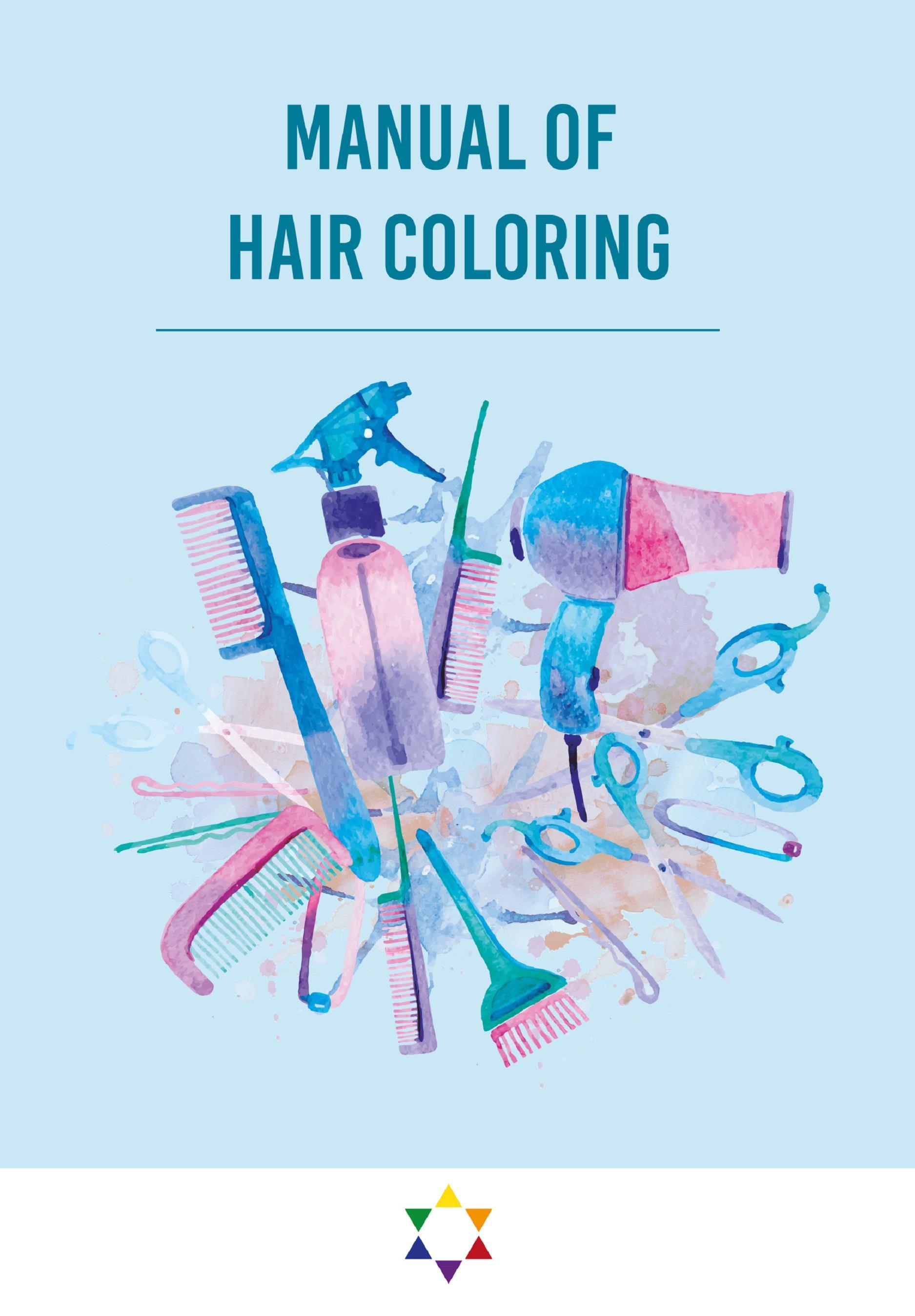 Manual of hair coloring ebook