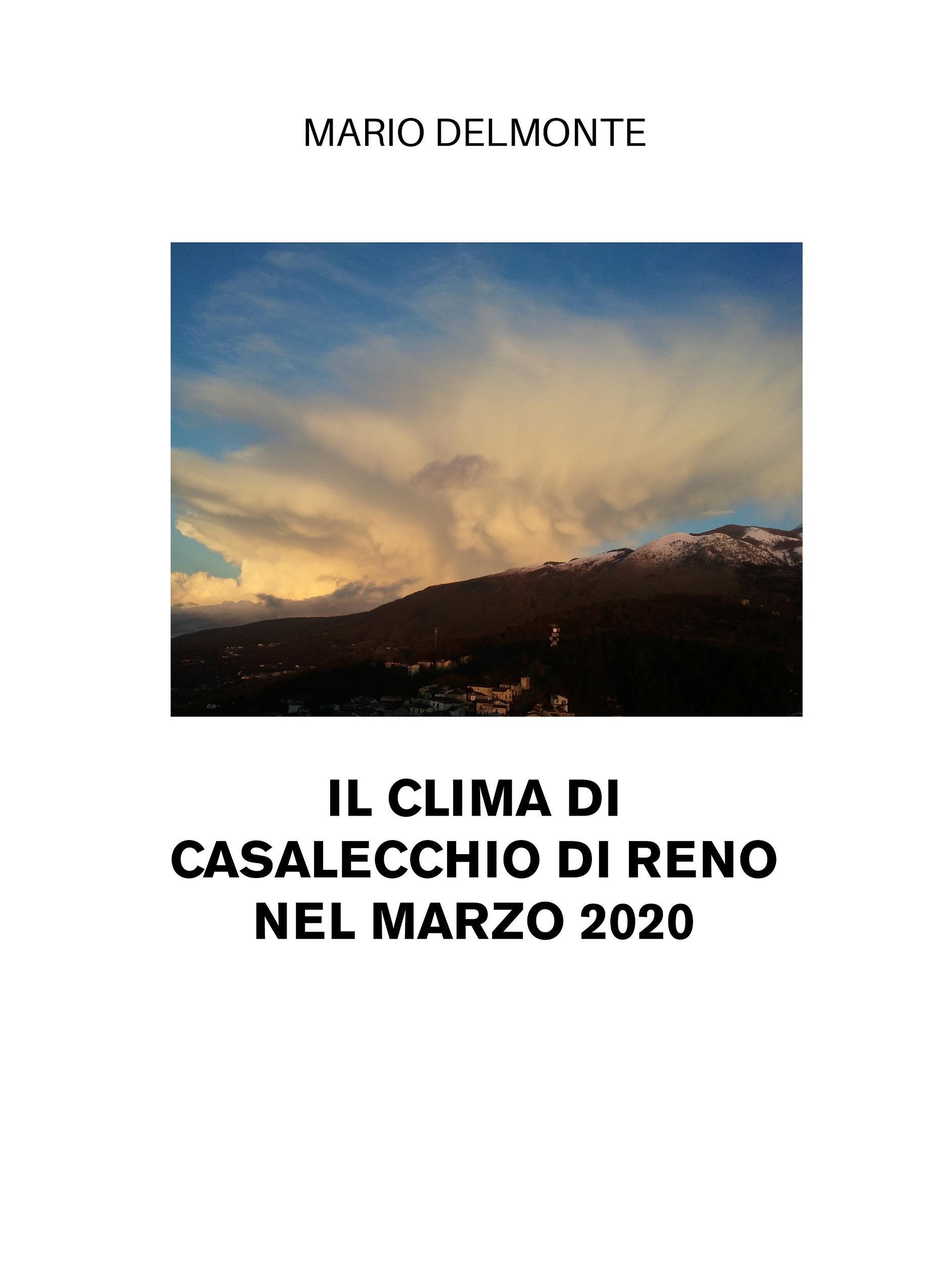 Il clima di Casalecchio di Reno nel marzo 2020