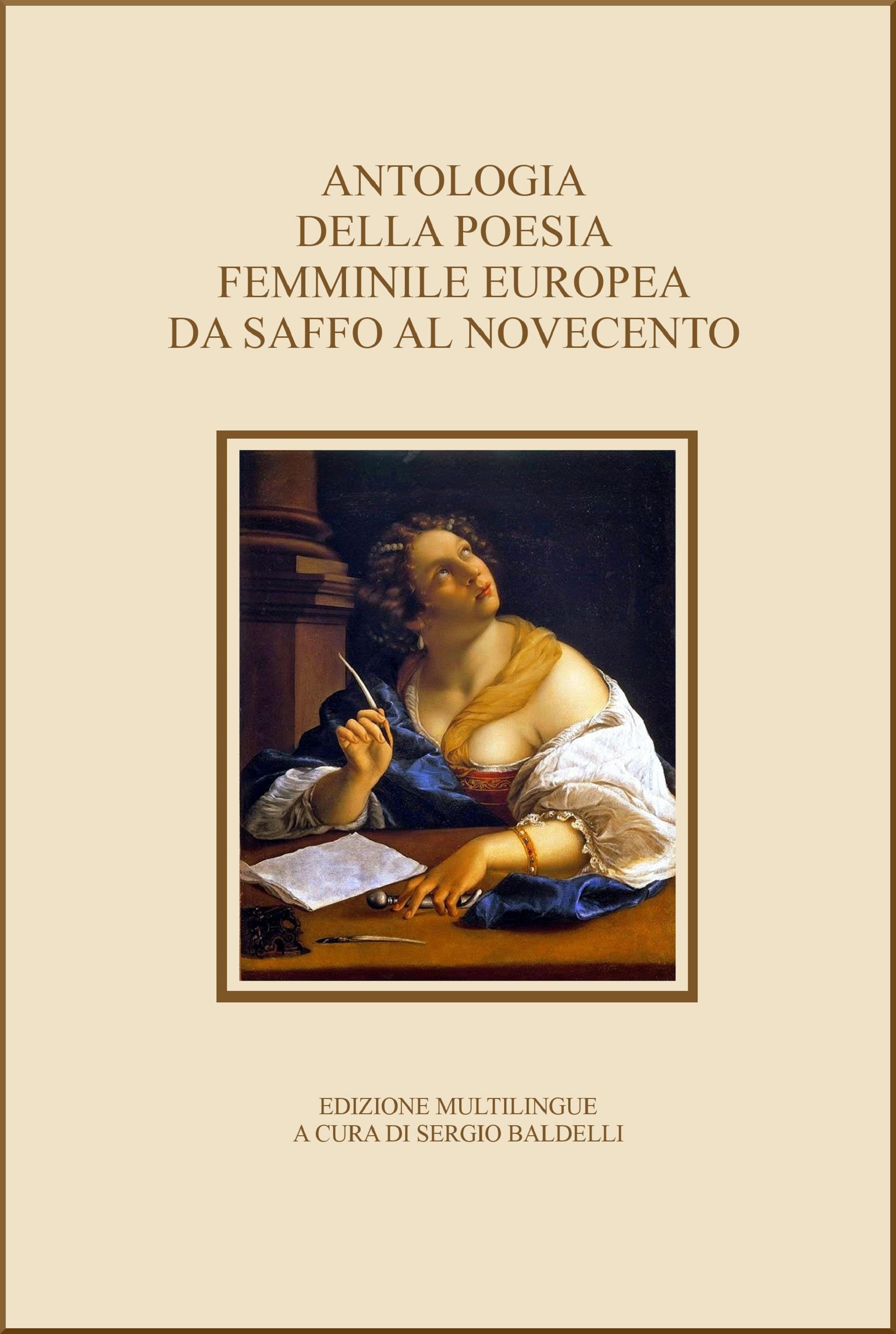 Antologia Della Poesia Femminile Europea Da Saffo Al Novecento