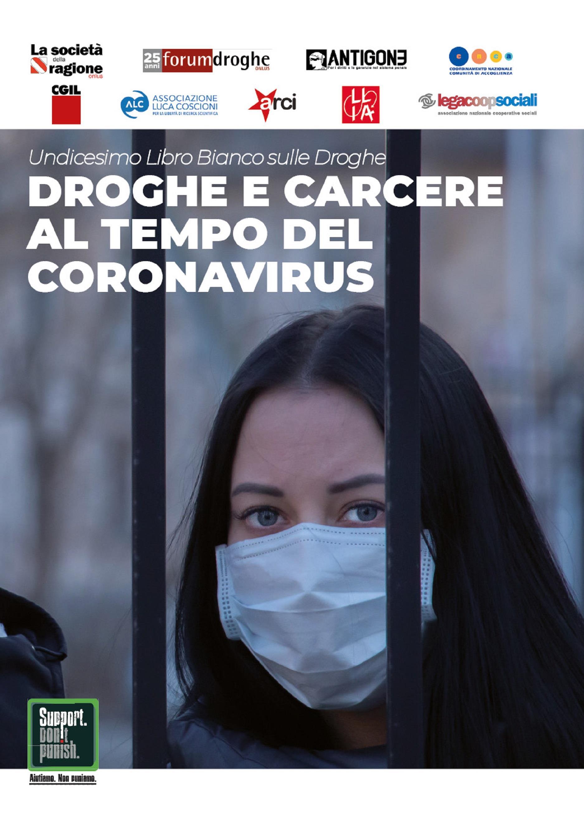 Droghe e carcere al tempo del Coronavirus - Undicesimo Libro Bianco sulle Droghe