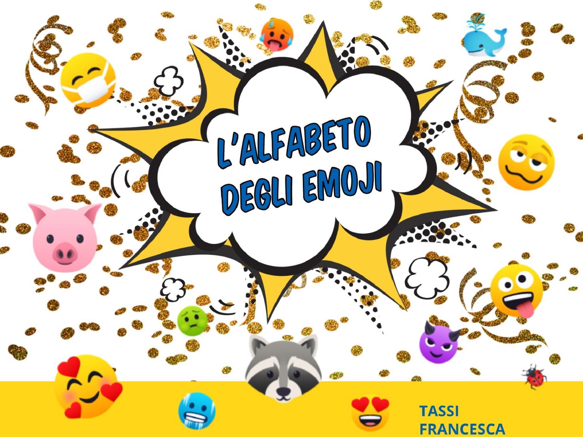 L'alfabeto degli emoji