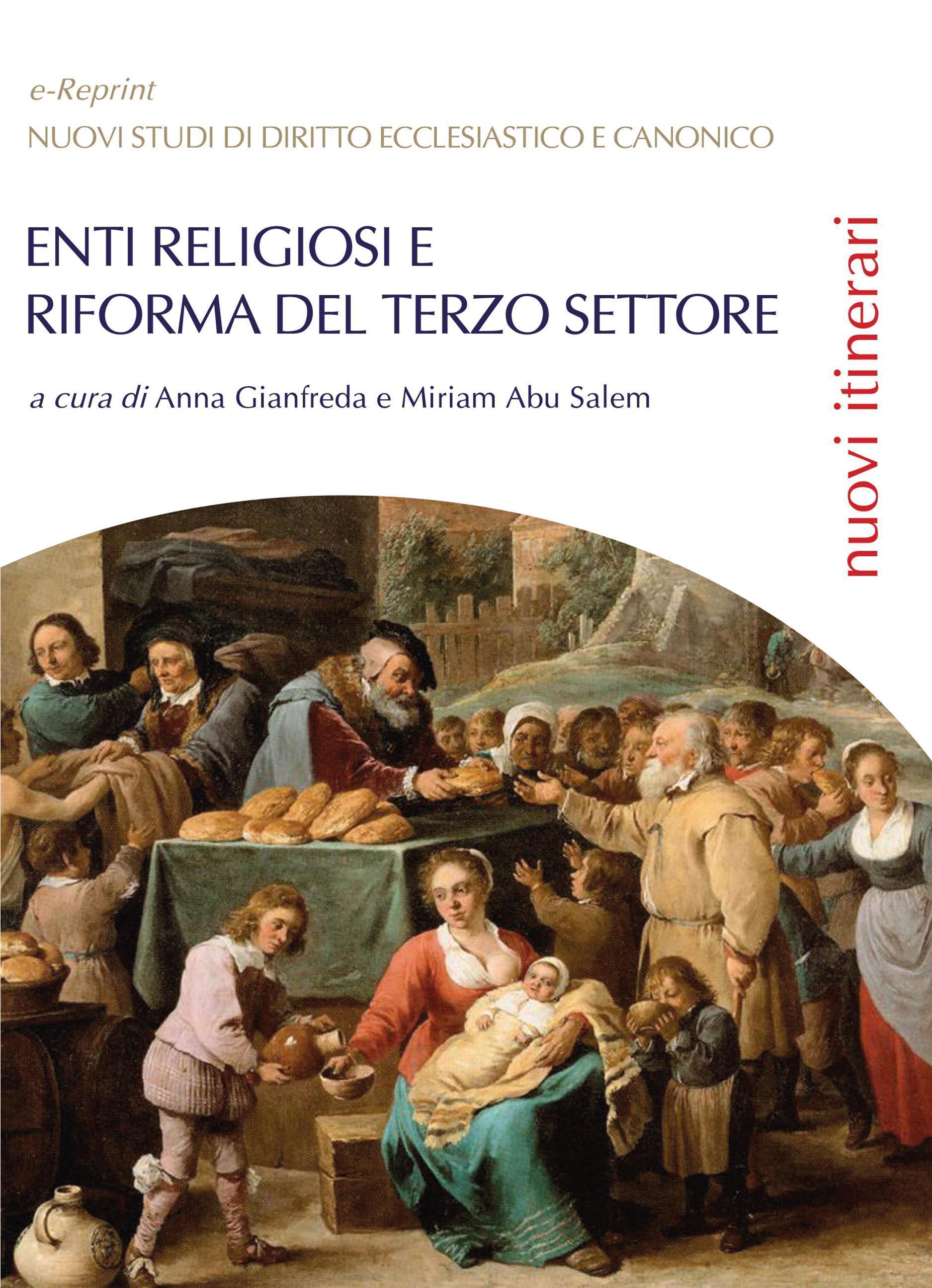 Enti religiosi e riforma del Terzo settore