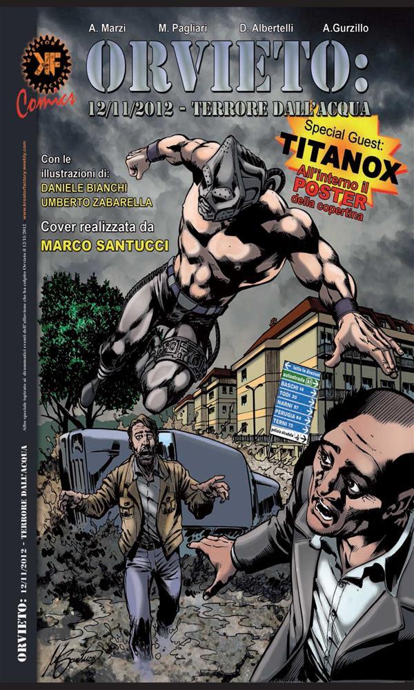 Orvieto:12/11/2012 - Terrore dall'acqua