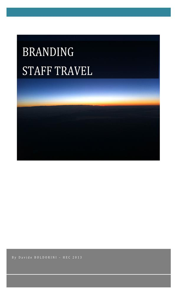 Branding Staff Travel