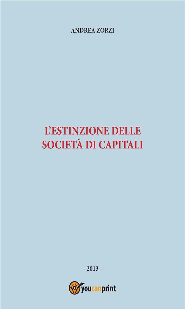 L'estinzione delle società di capitali
