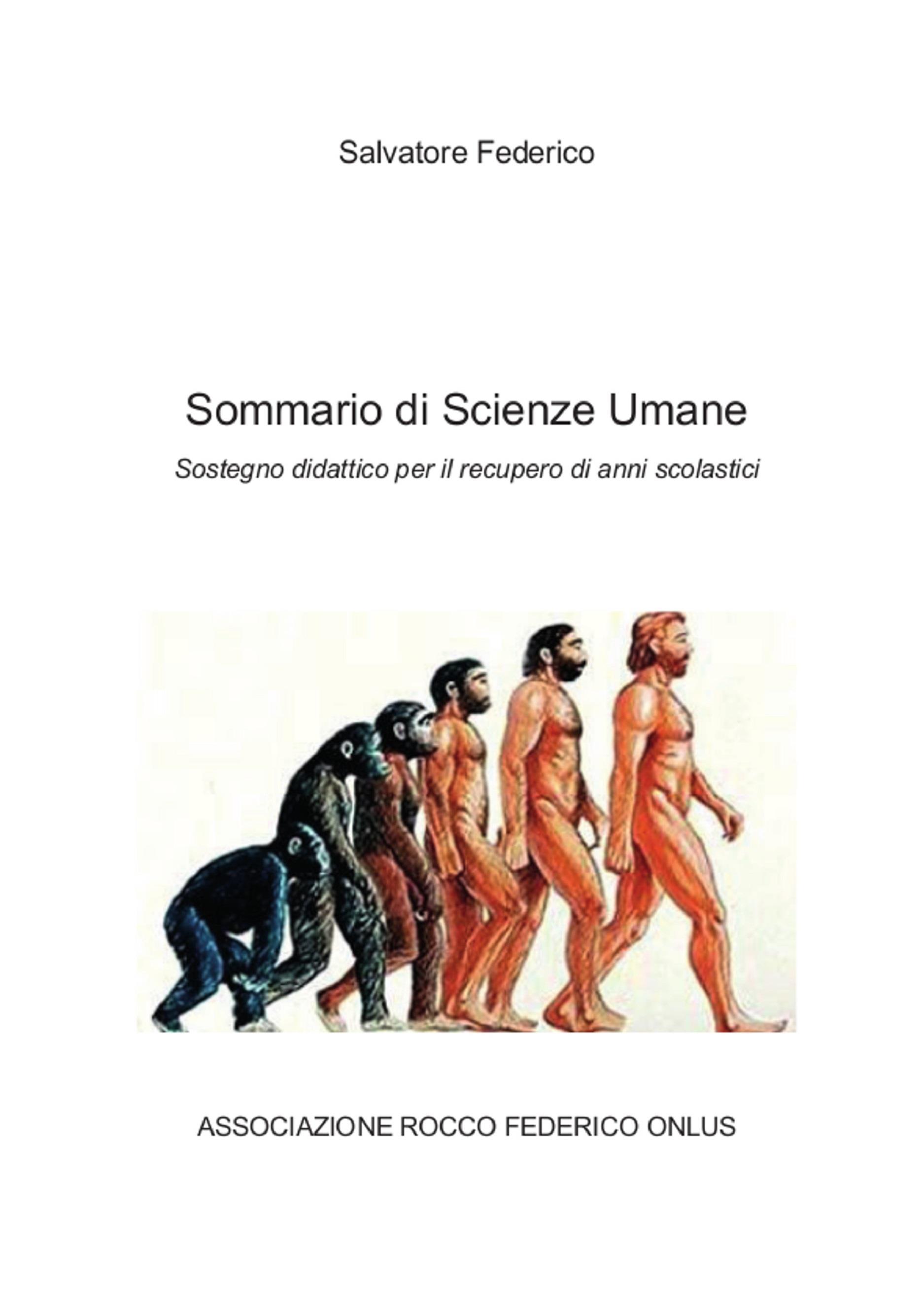 Sommario di Scienze Umane