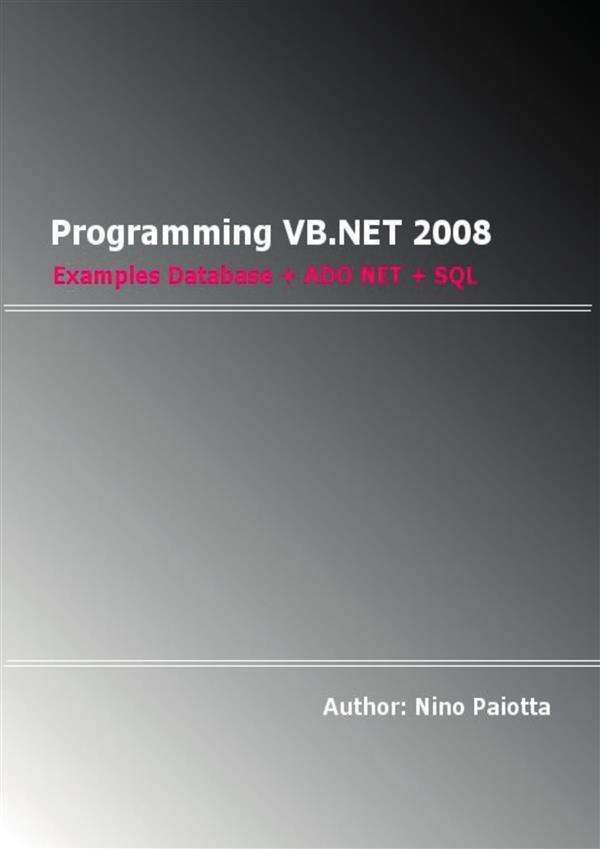 Programming VB.NET 2008