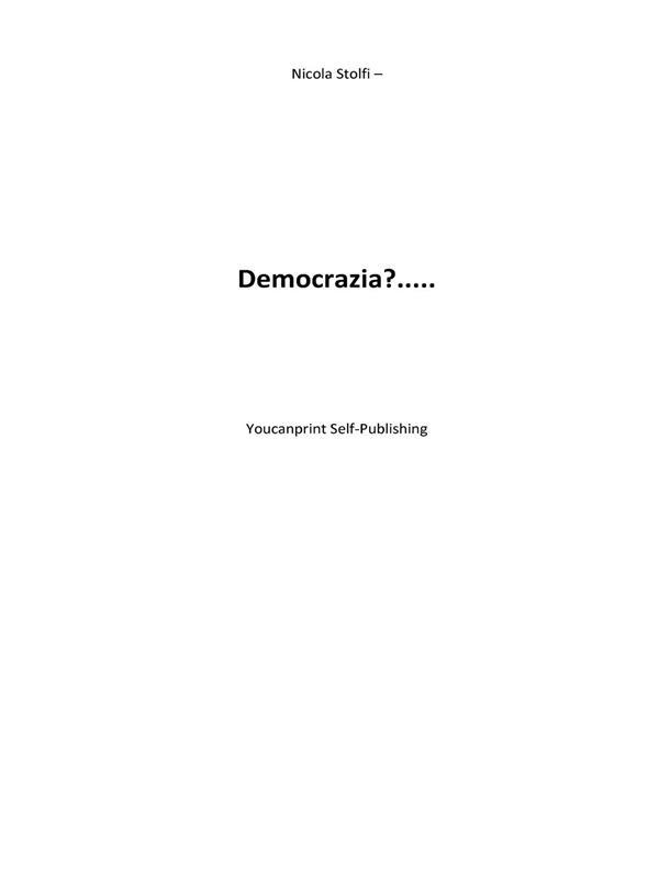 Democrazia?...