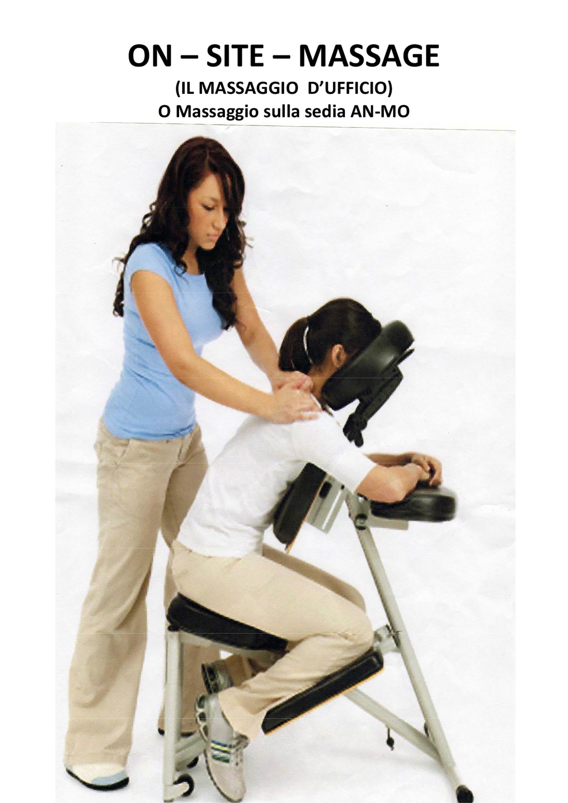 On site massage