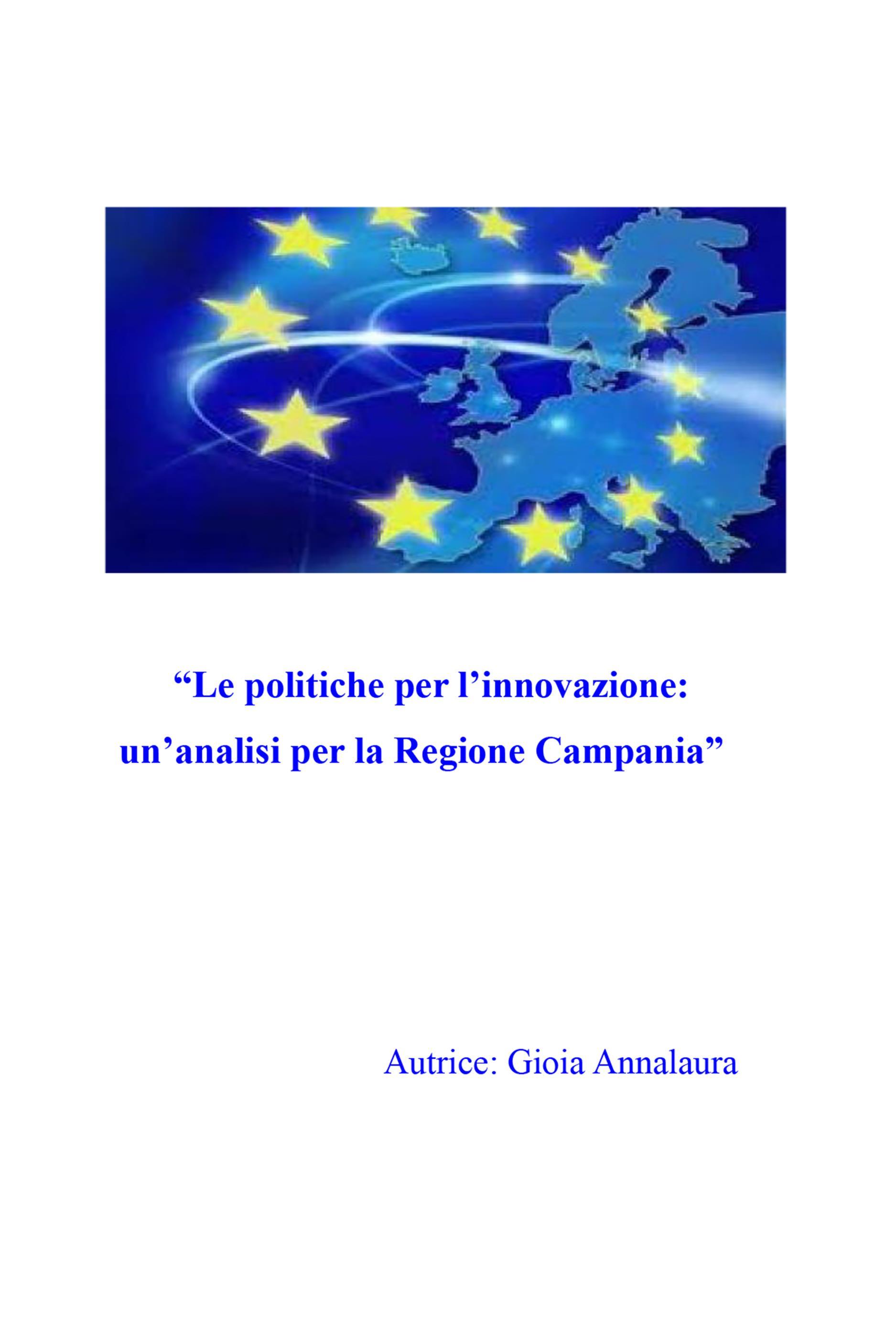 Le politiche per l'innovazione: un'analisi per la Regione Campania