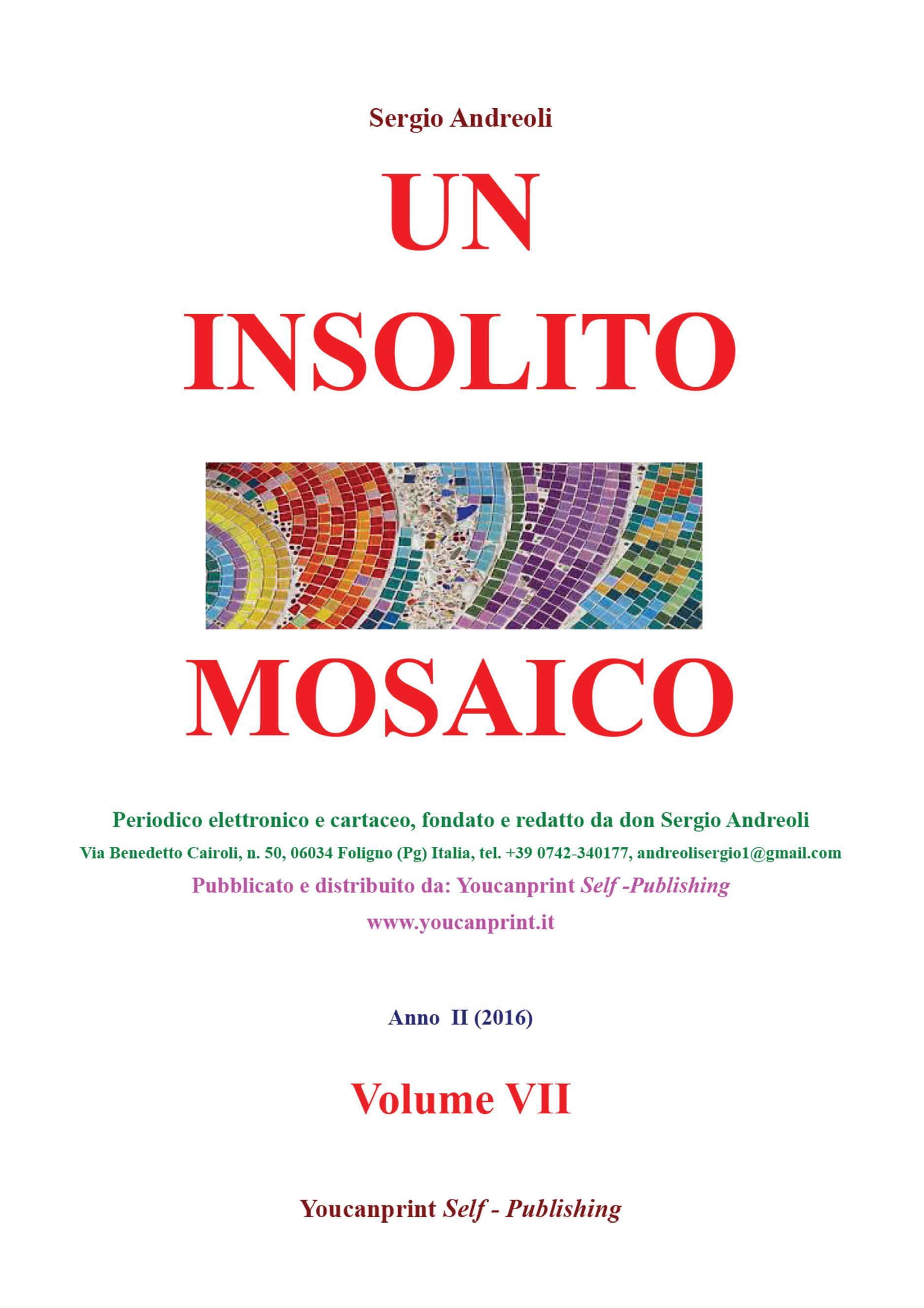 Un insolito mosaico. Vol. VII