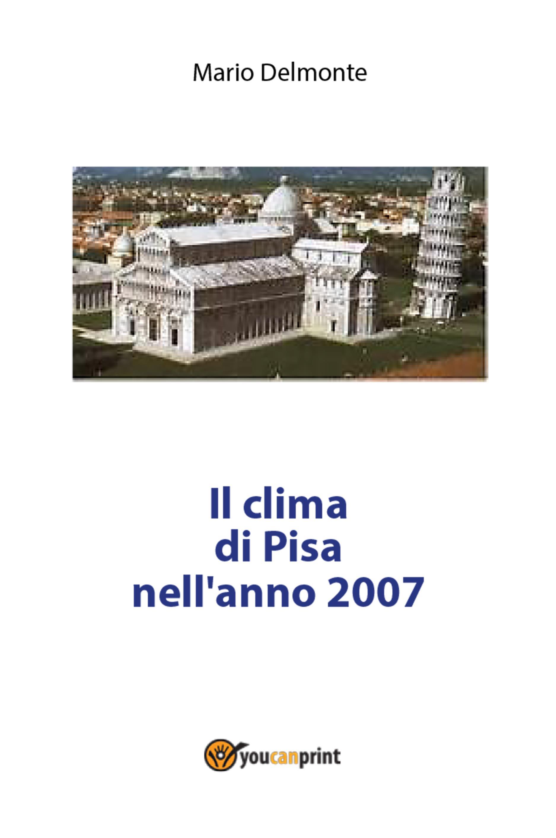 Il clima di Pisa nell'anno 2007