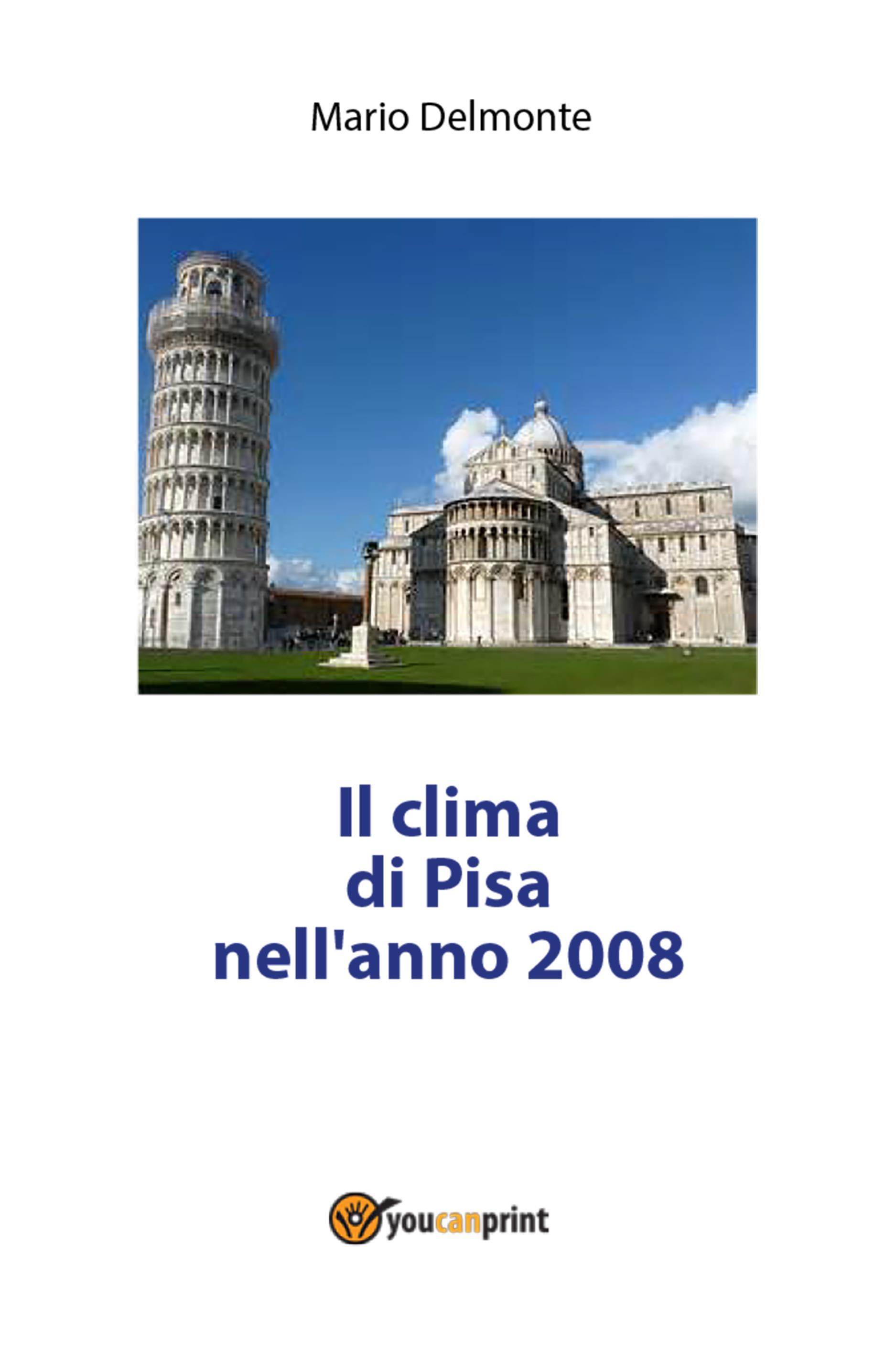 Il clima di Pisa nell'anno 2008