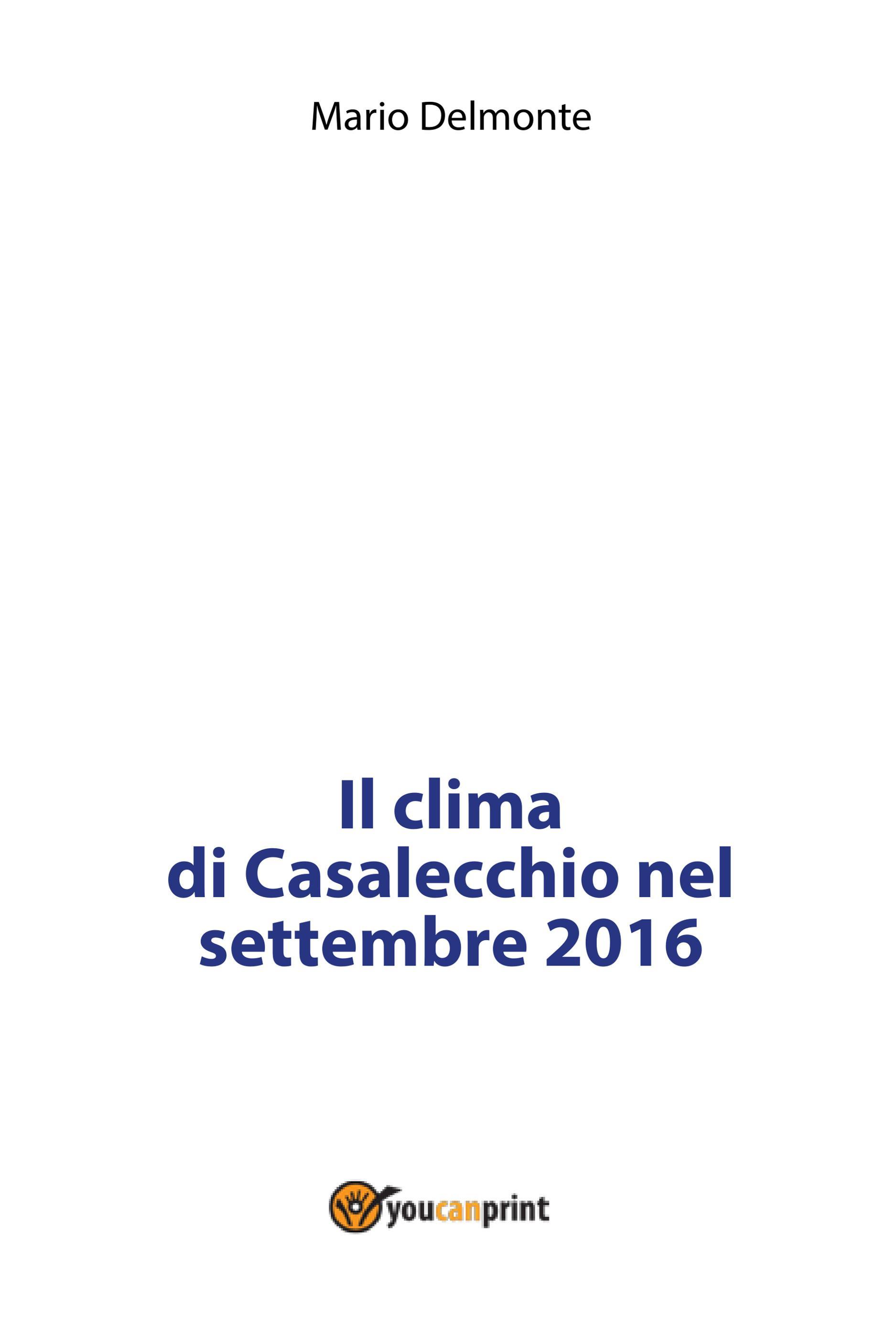 Il clima di Casalecchio nel settembre 2016