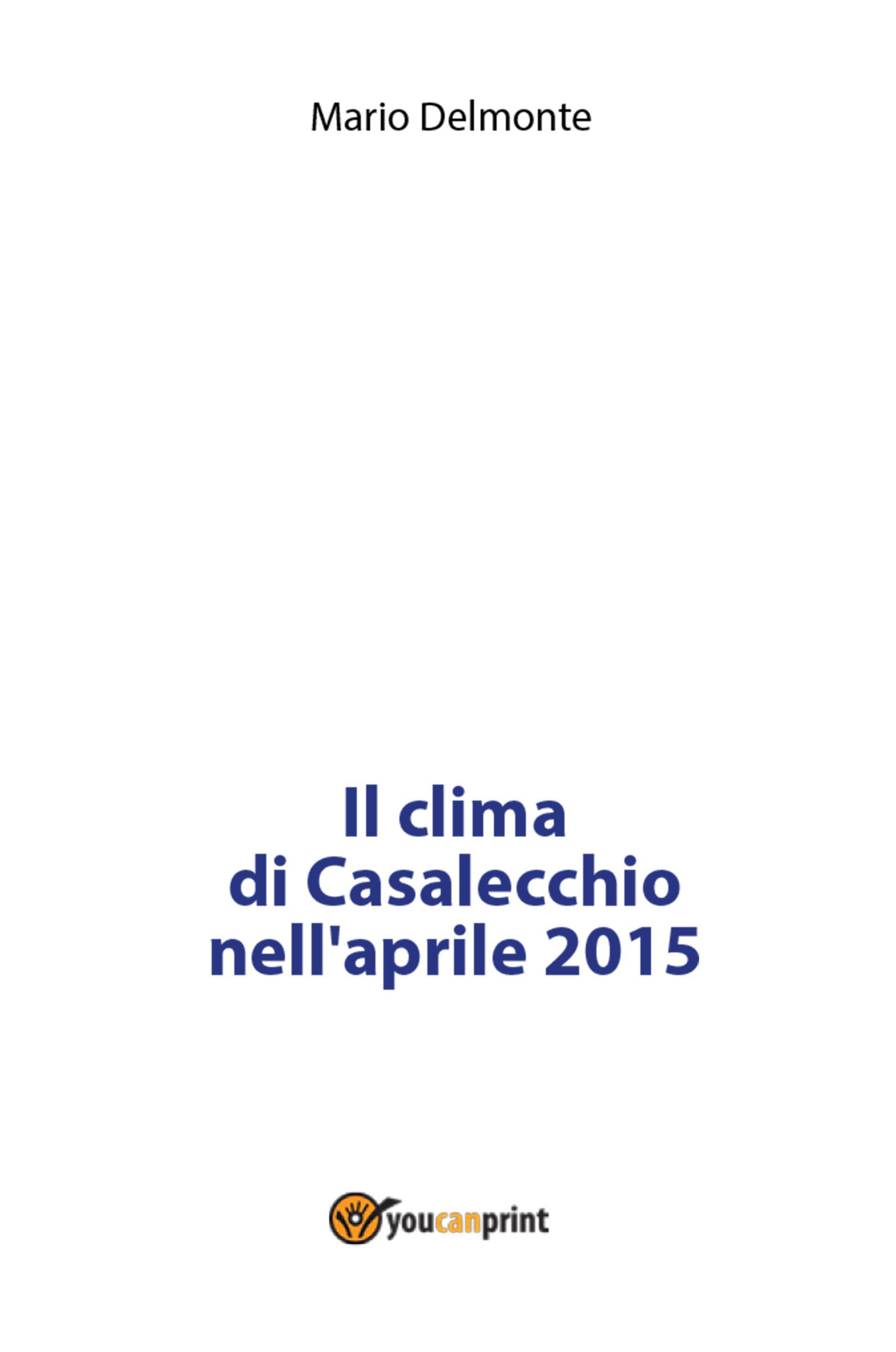 Il clima di Casalecchio nell'aprile 2015