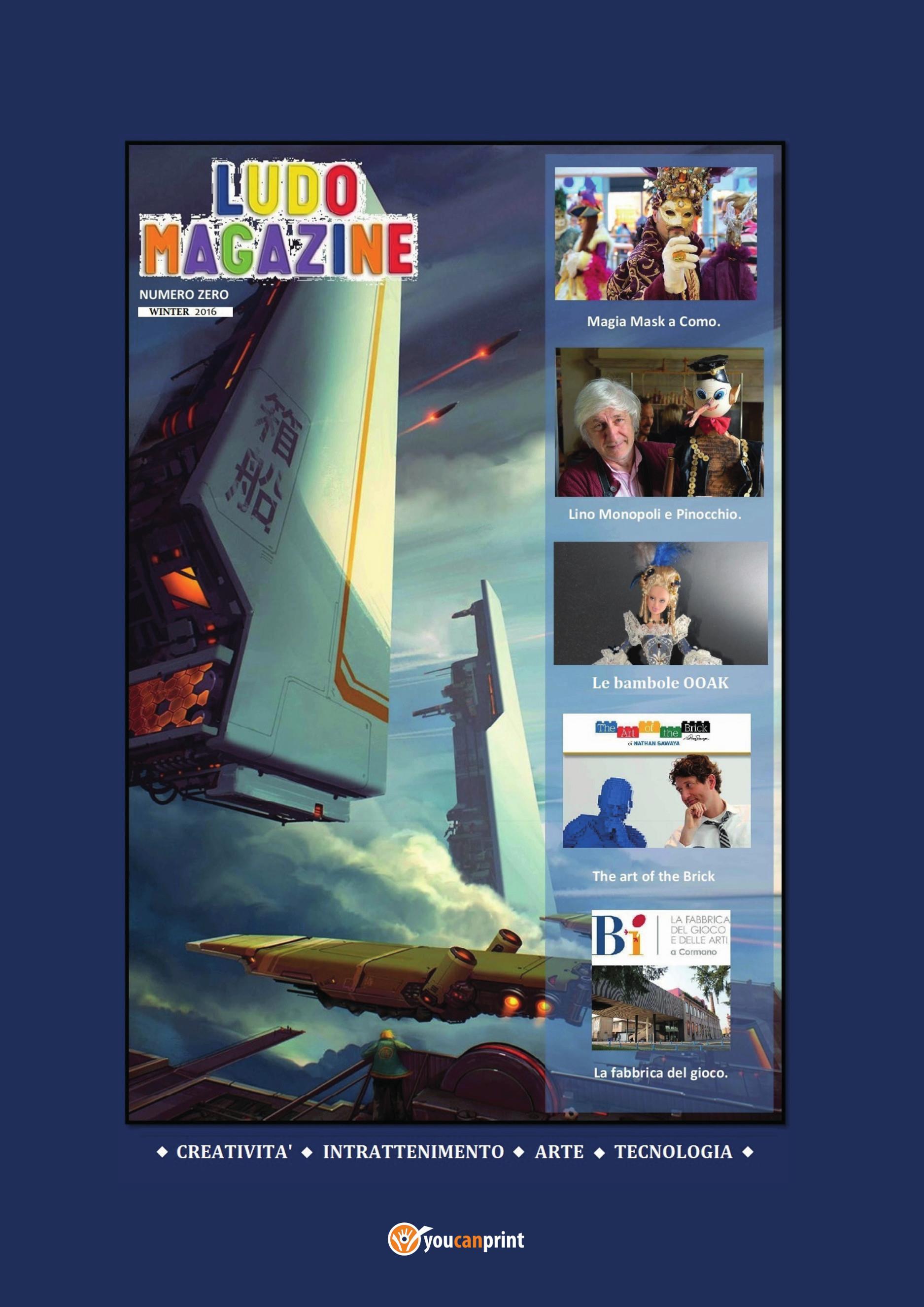 Ludo Magazine - N. Zero