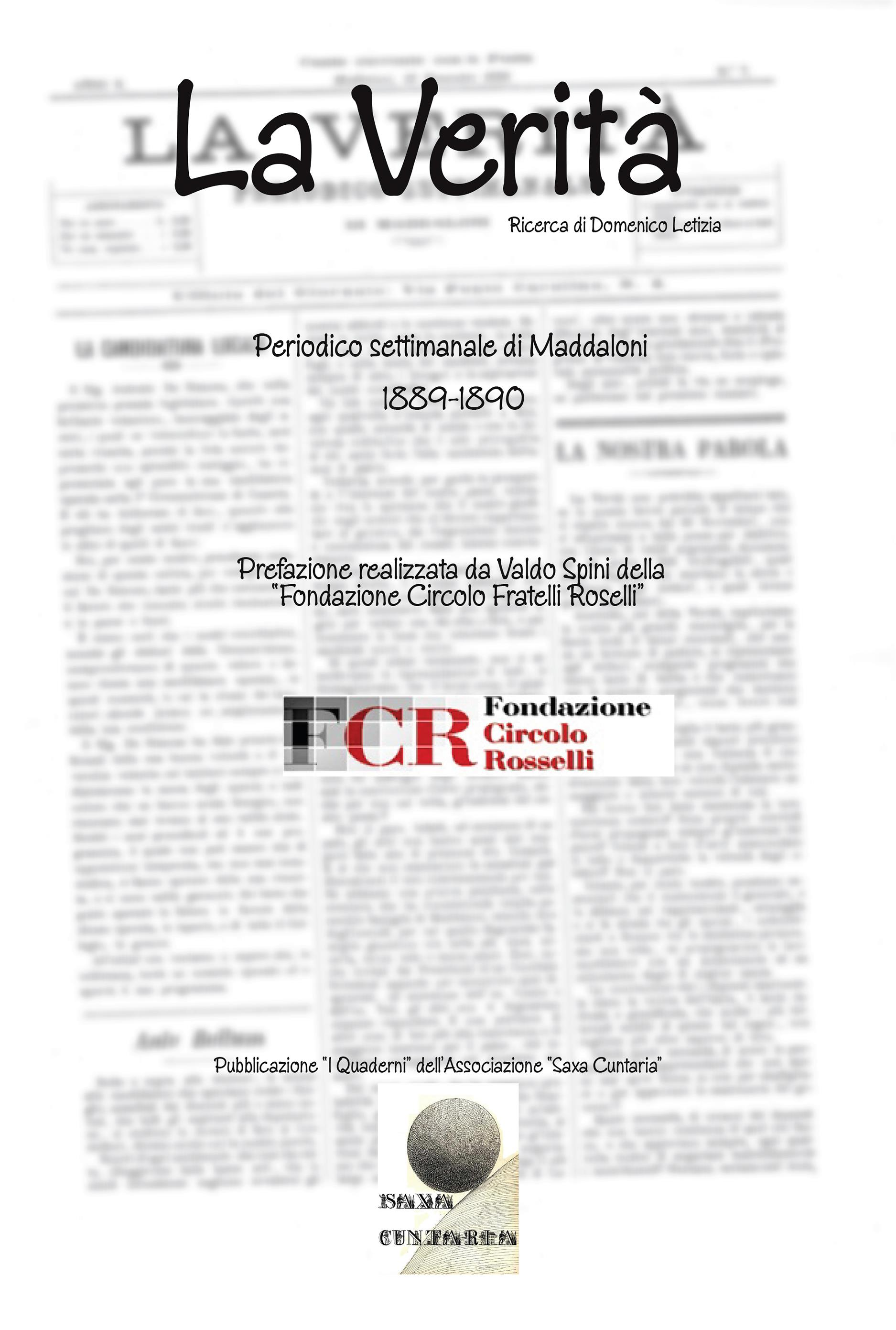 La Verità. Periodico settimanale di Maddaloni 1889-1890