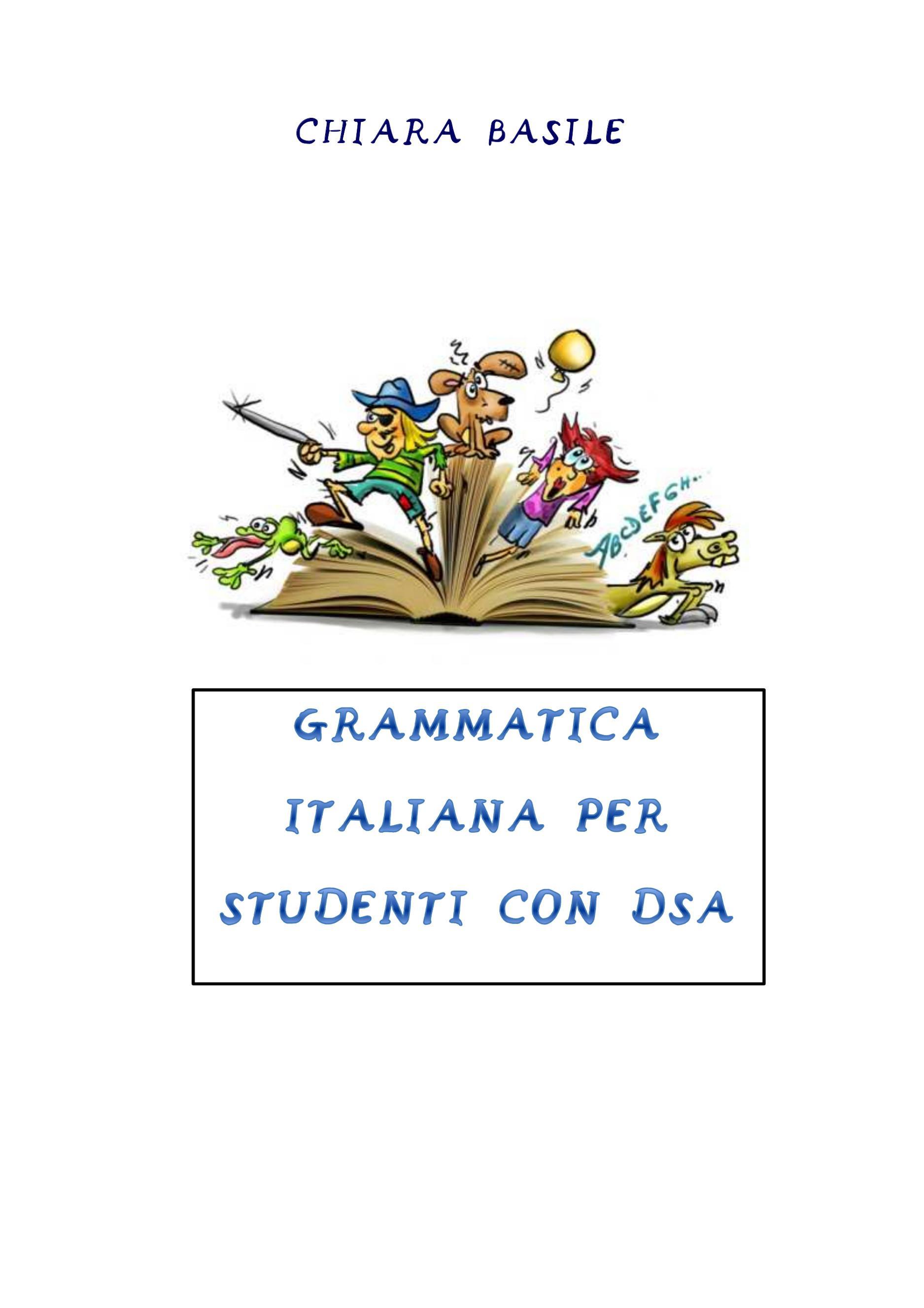 Grammatica italiana per studenti con DSA