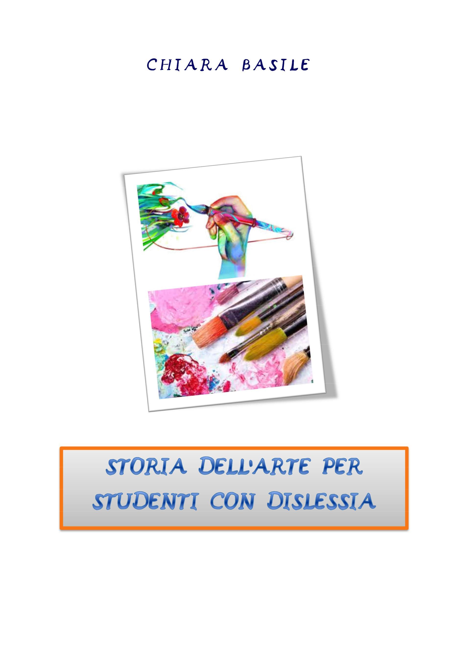 Storia dell'arte facilitata per studenti con dsa