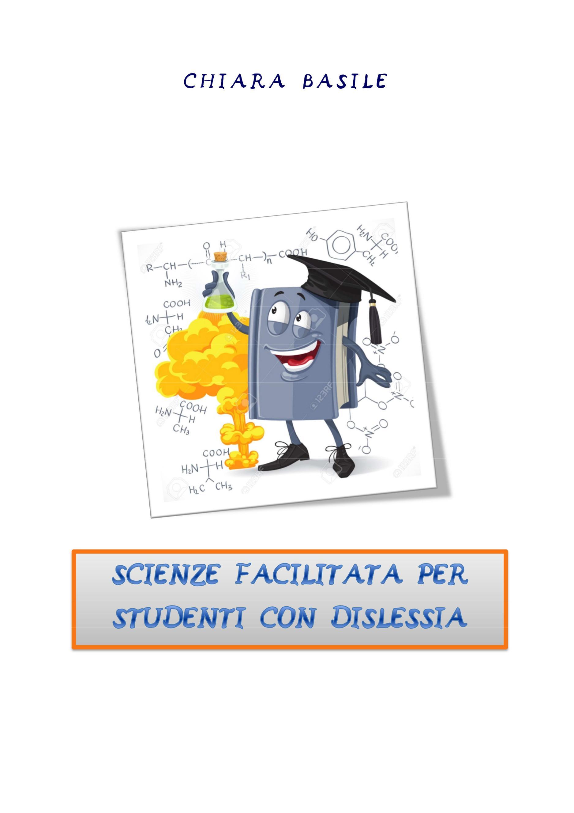 Scienze facilitata per studenti con dislessia