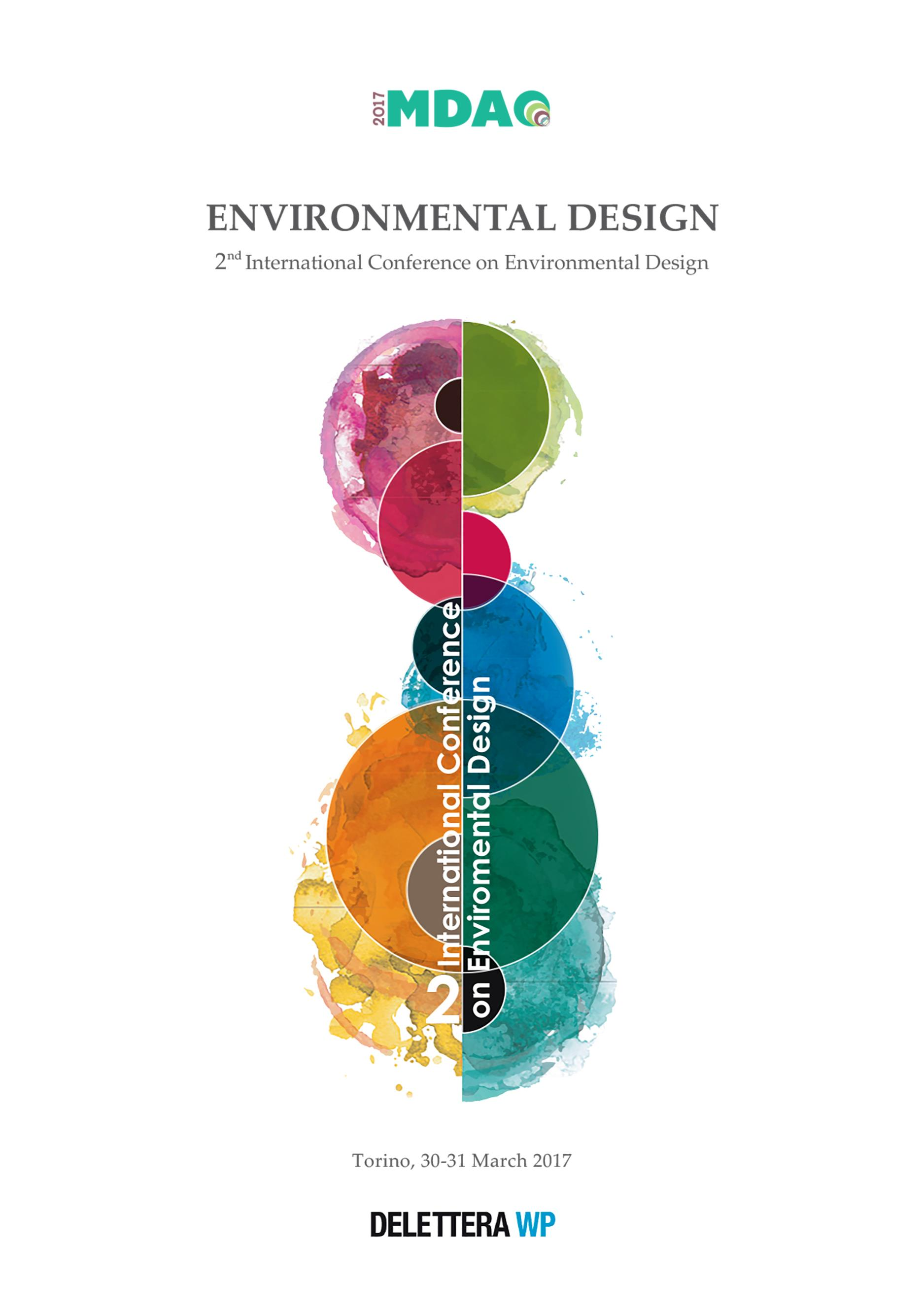 Environmental Design - 2nd International Conference on Environmental Design