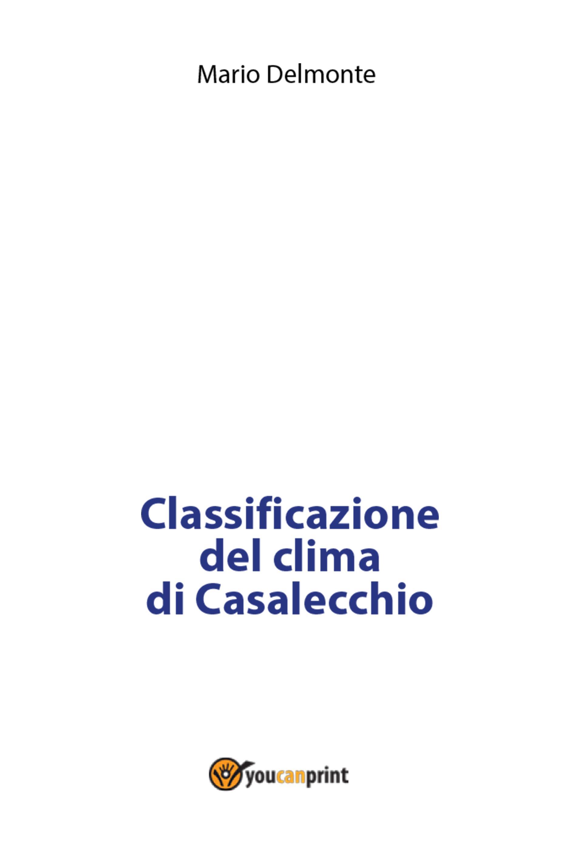 Classificazione del clima di Casalecchio