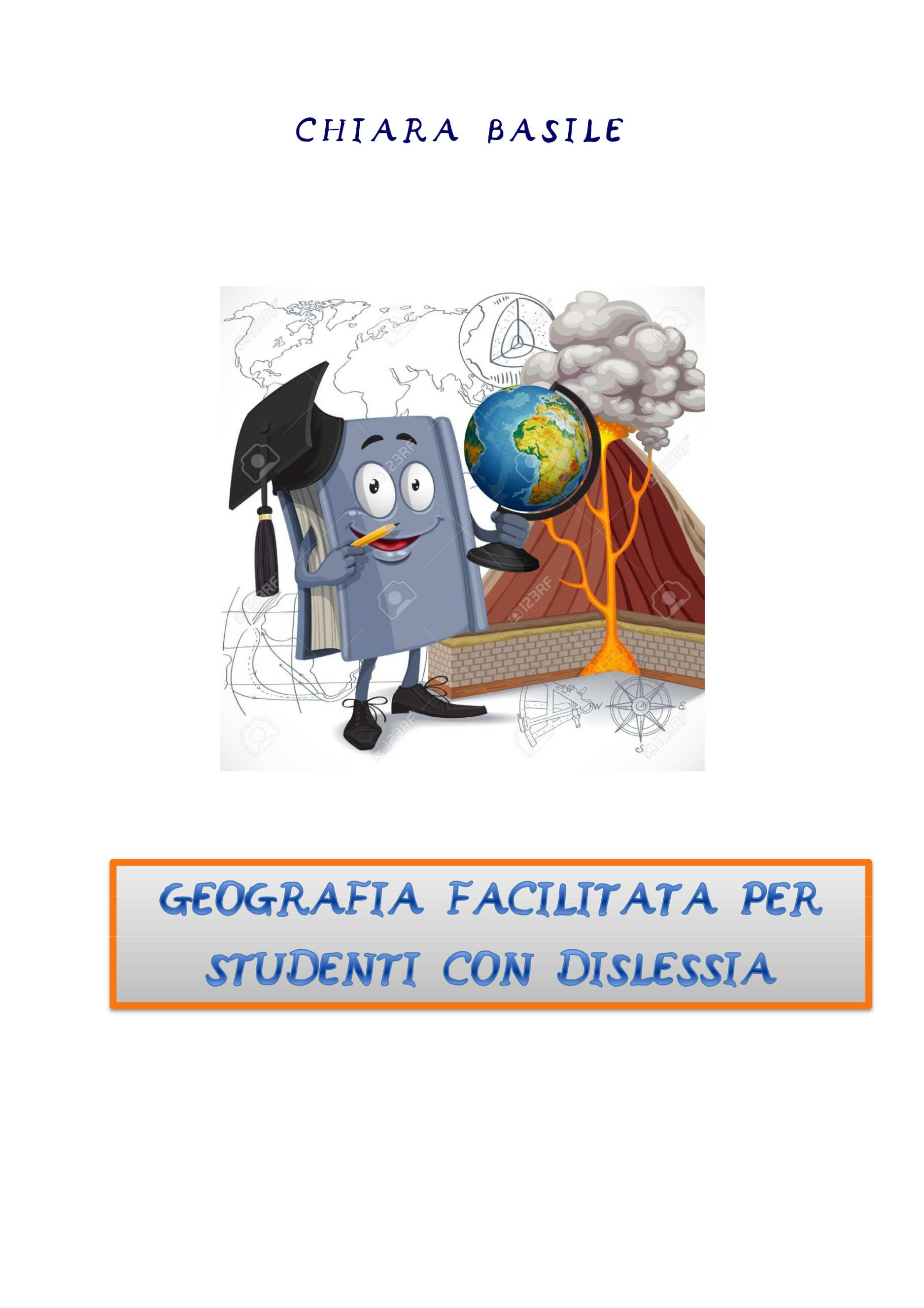 Geografia facilitata per studenti con dislessia