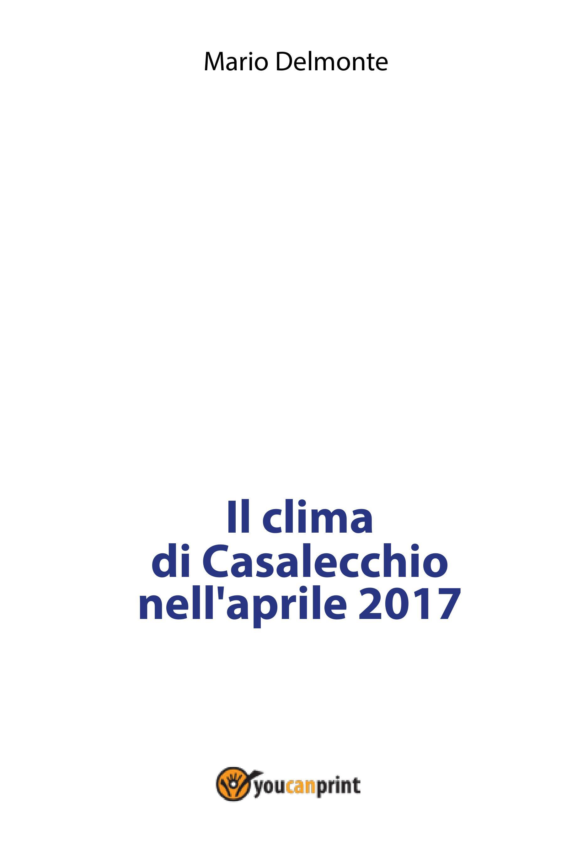 Il clima di Casalecchio nell'aprile 2017