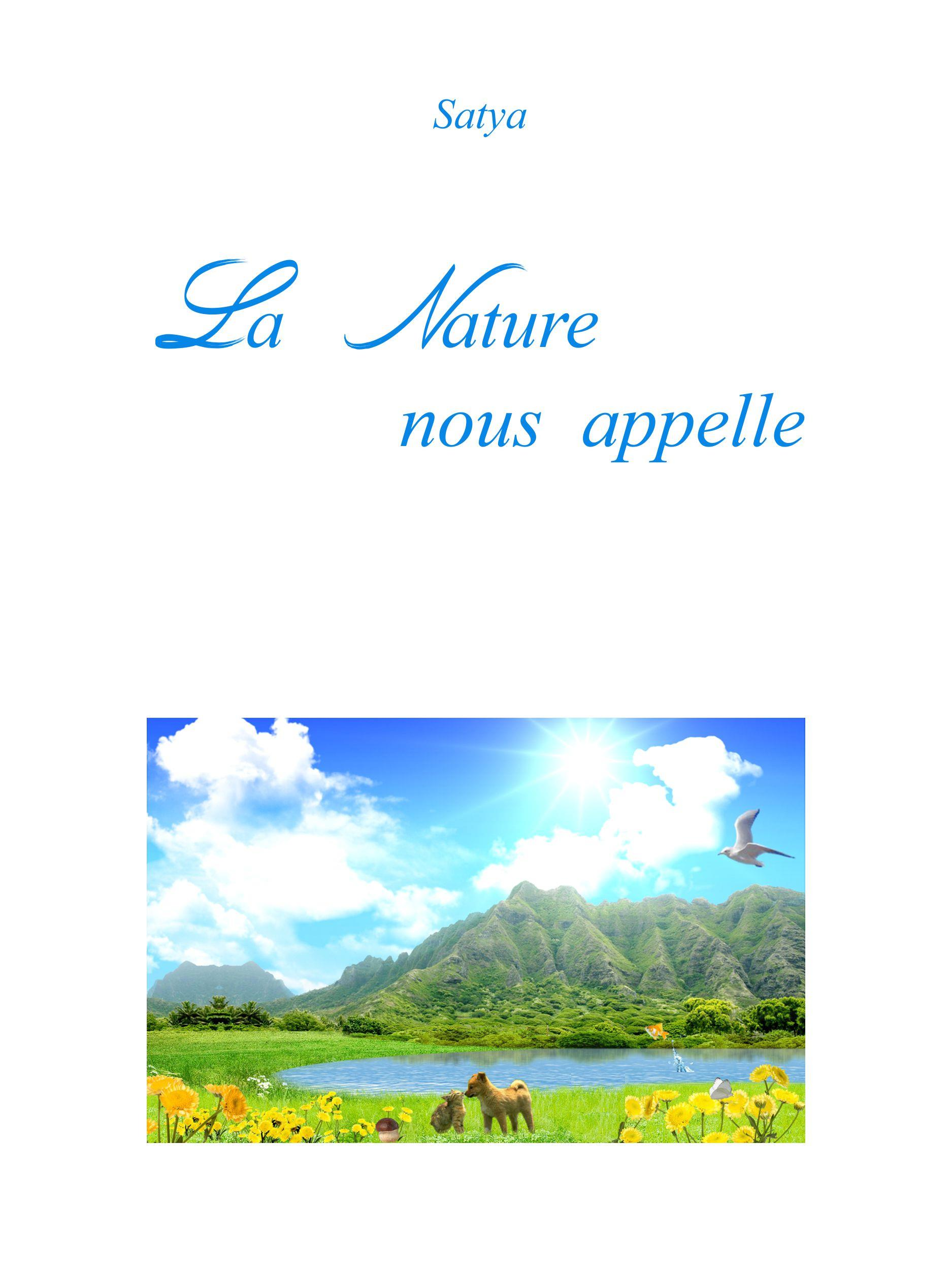 La Nature nous appelle