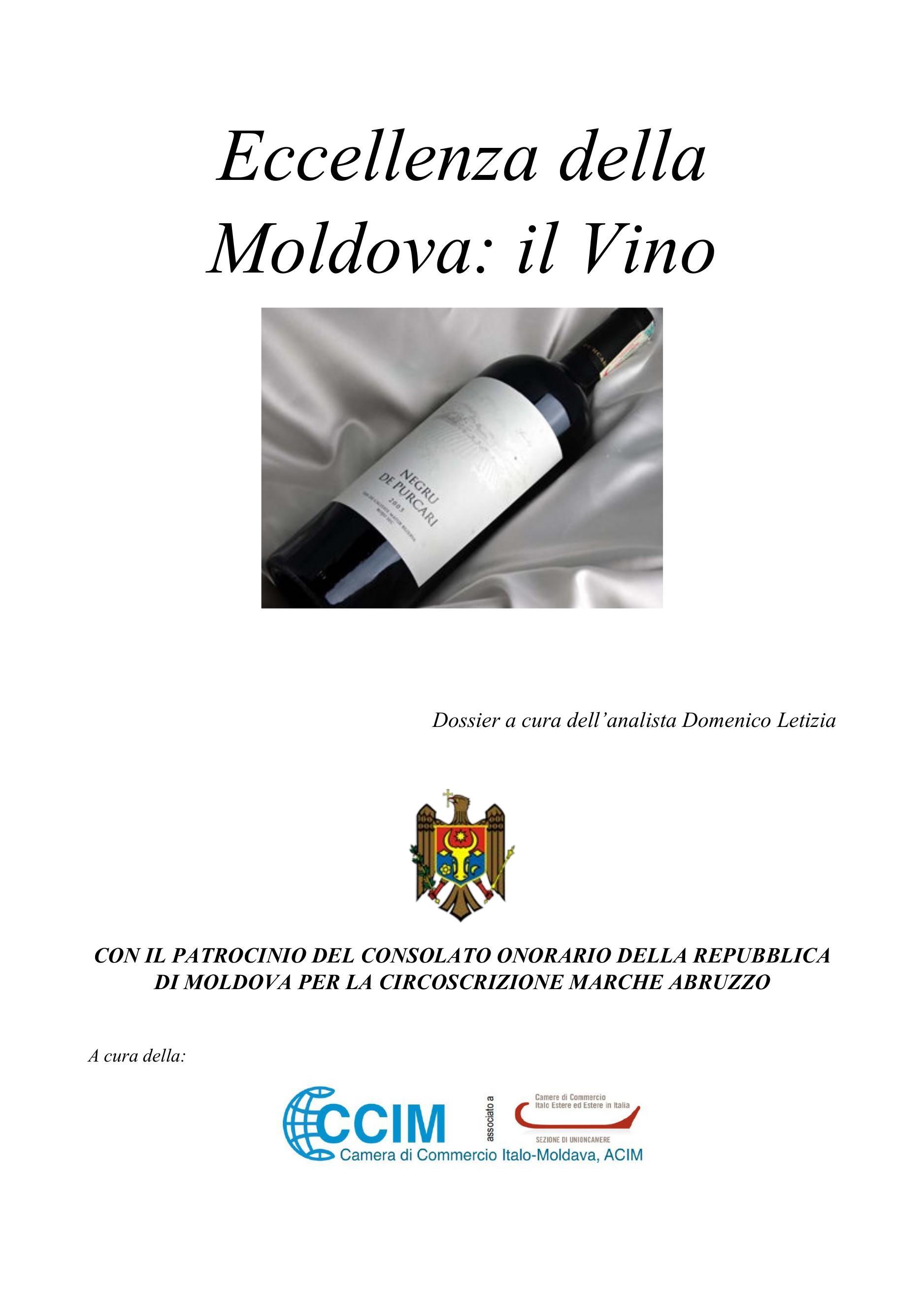 Eccellenza della Moldova: il vino