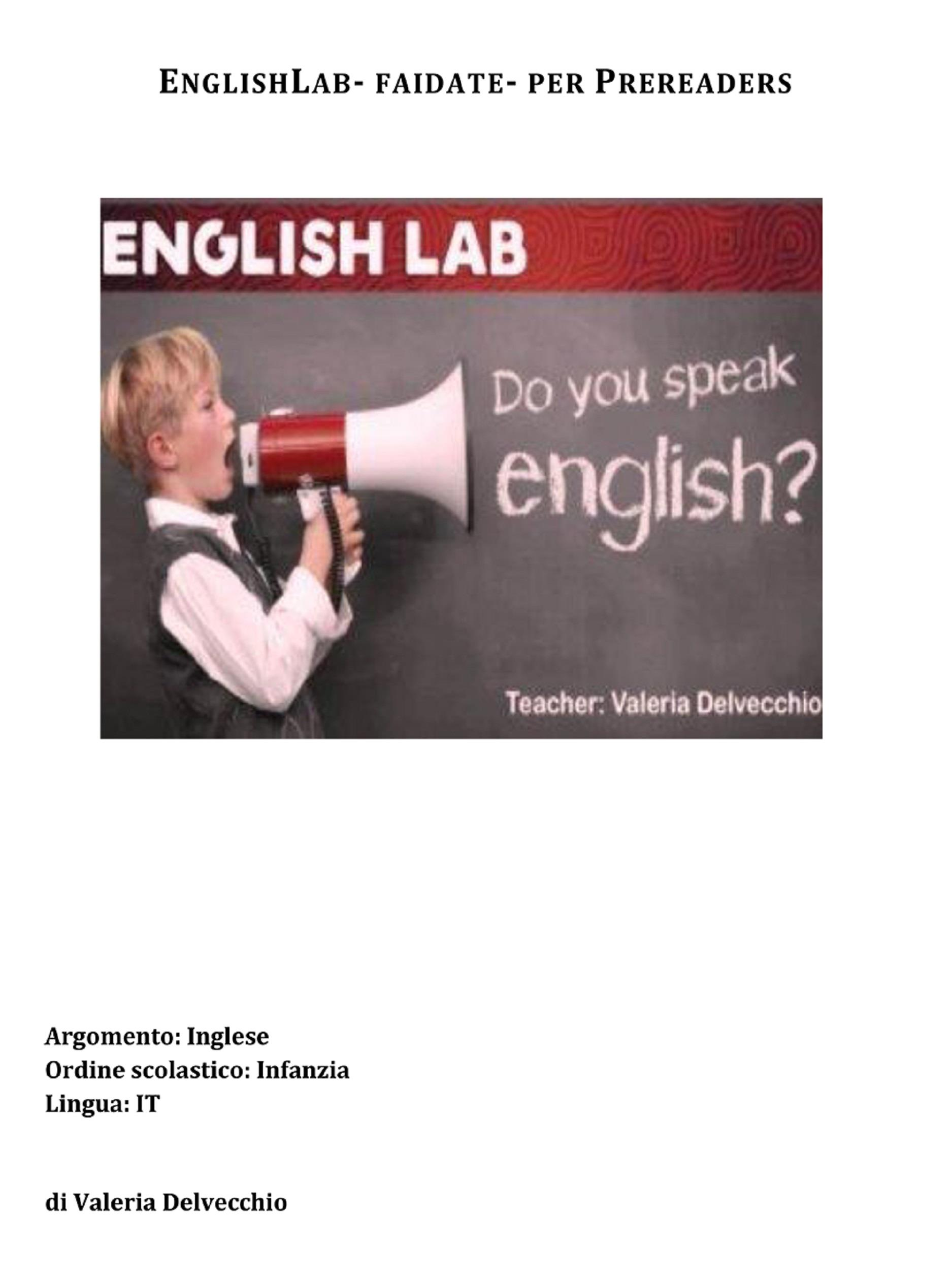 Englishlab-fai da te- per Prereaders