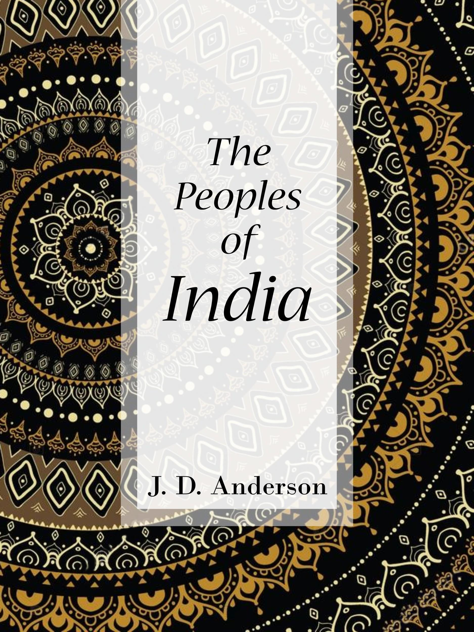 The Peoples of India