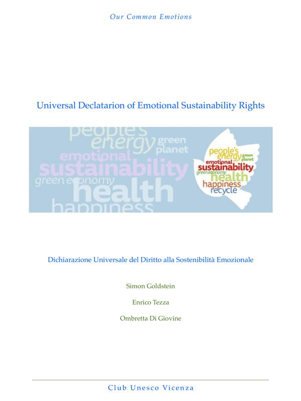 Universal Declaration of Emotional Sustainability Rights