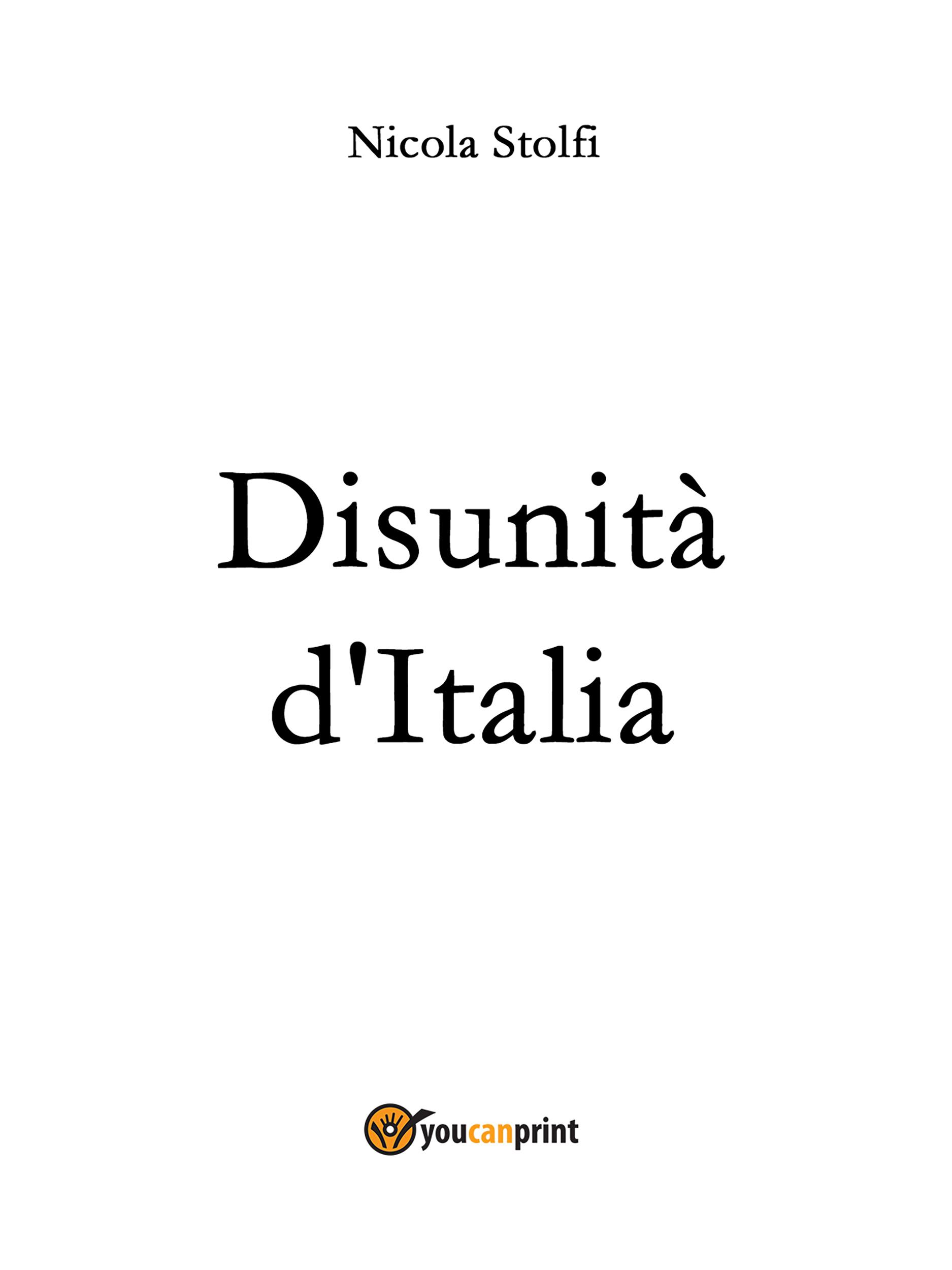 DISUNITA' D'ITALIA