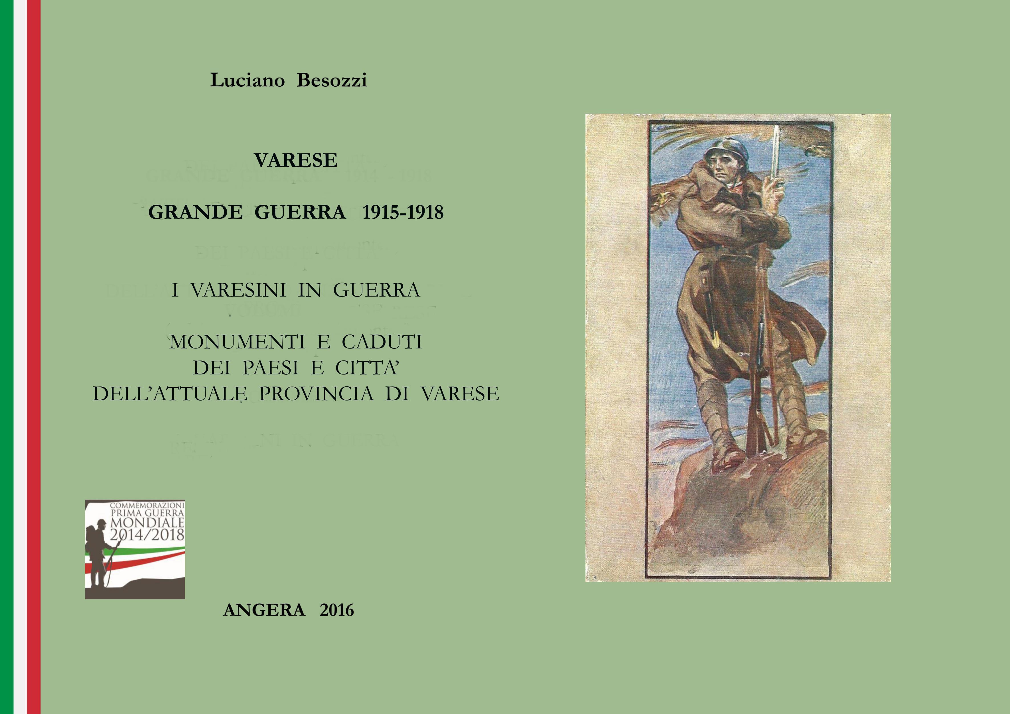 Provincia di Varese Grande Guerra