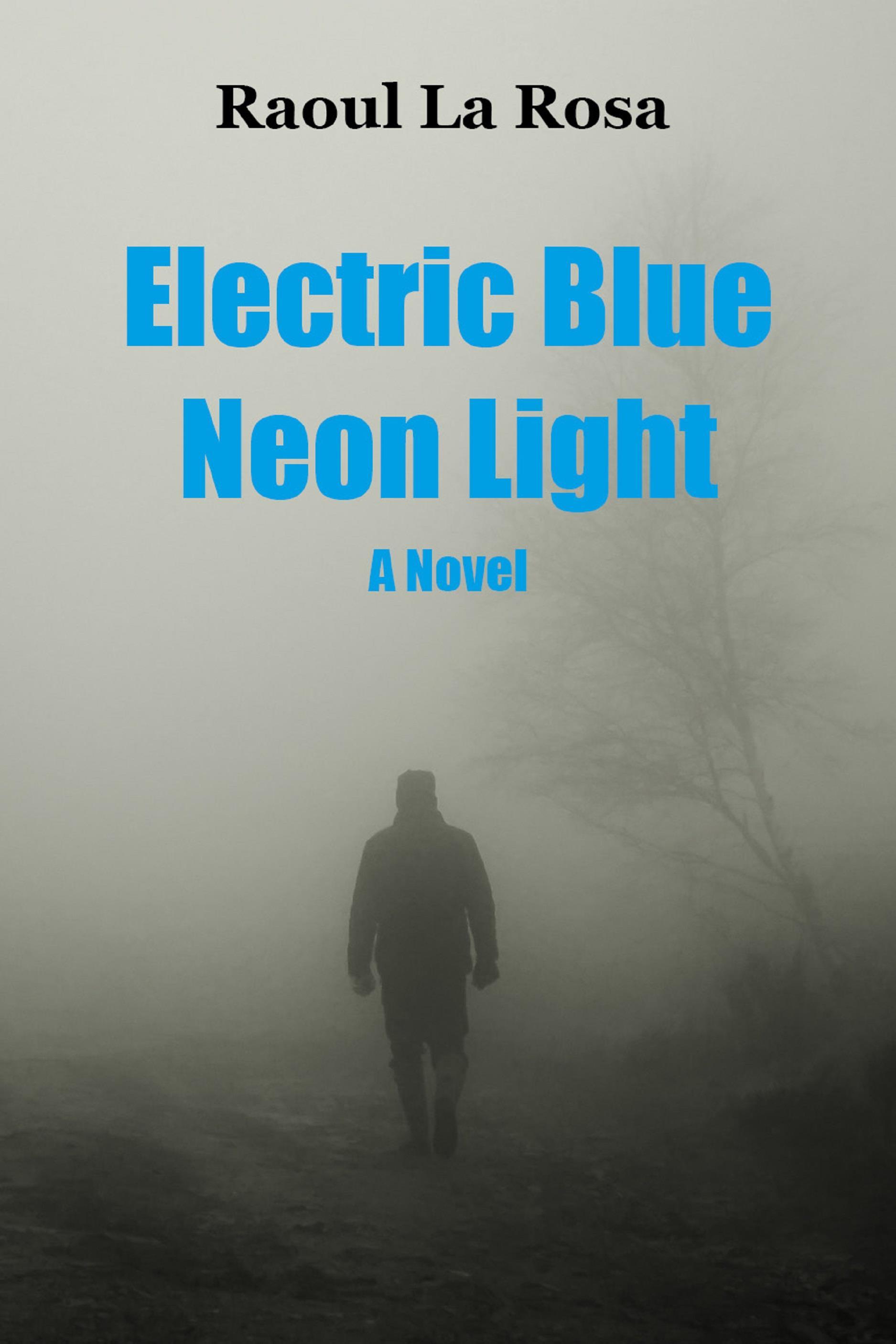 Electric Blue Neon Light