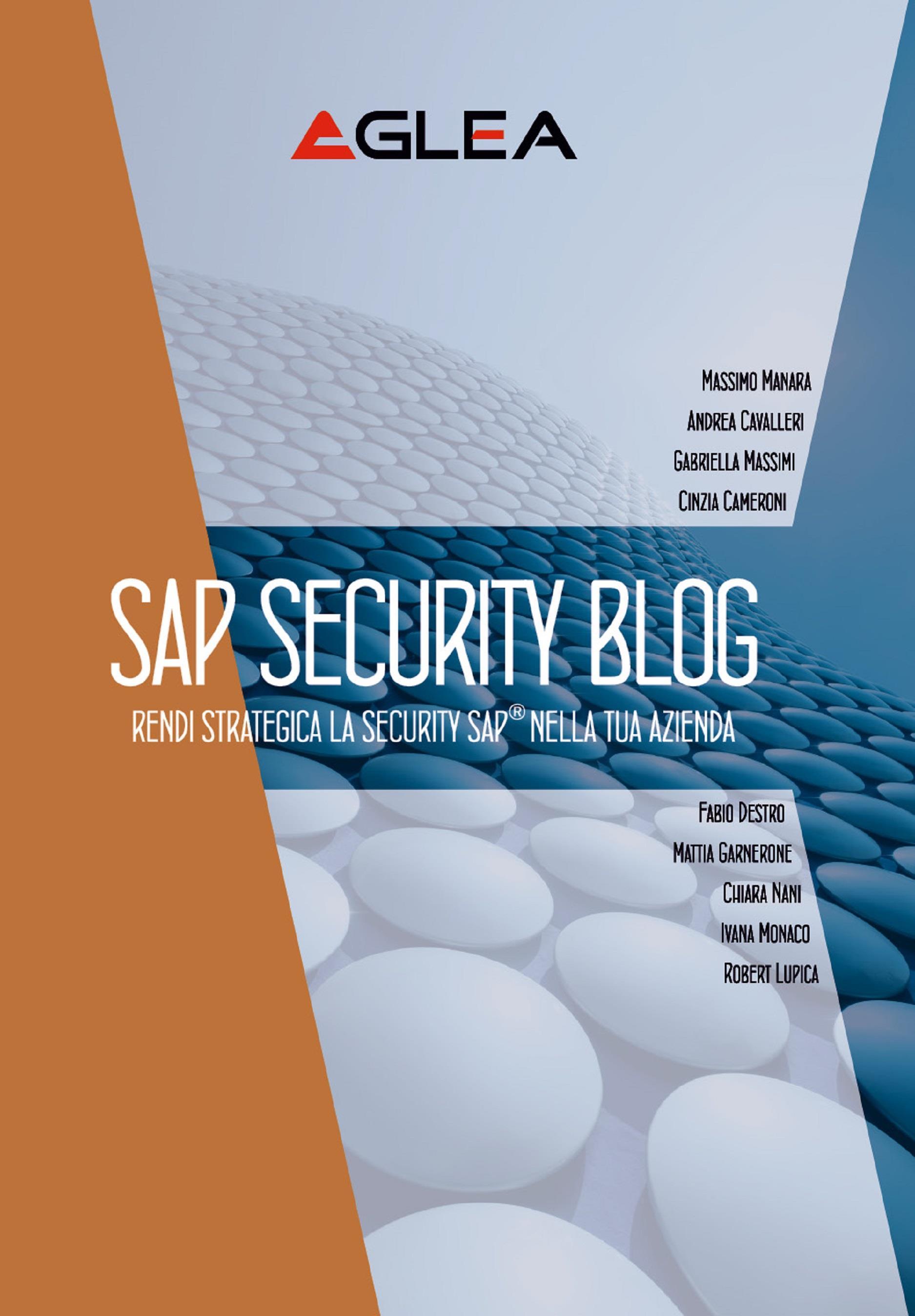 SAP Security Blog