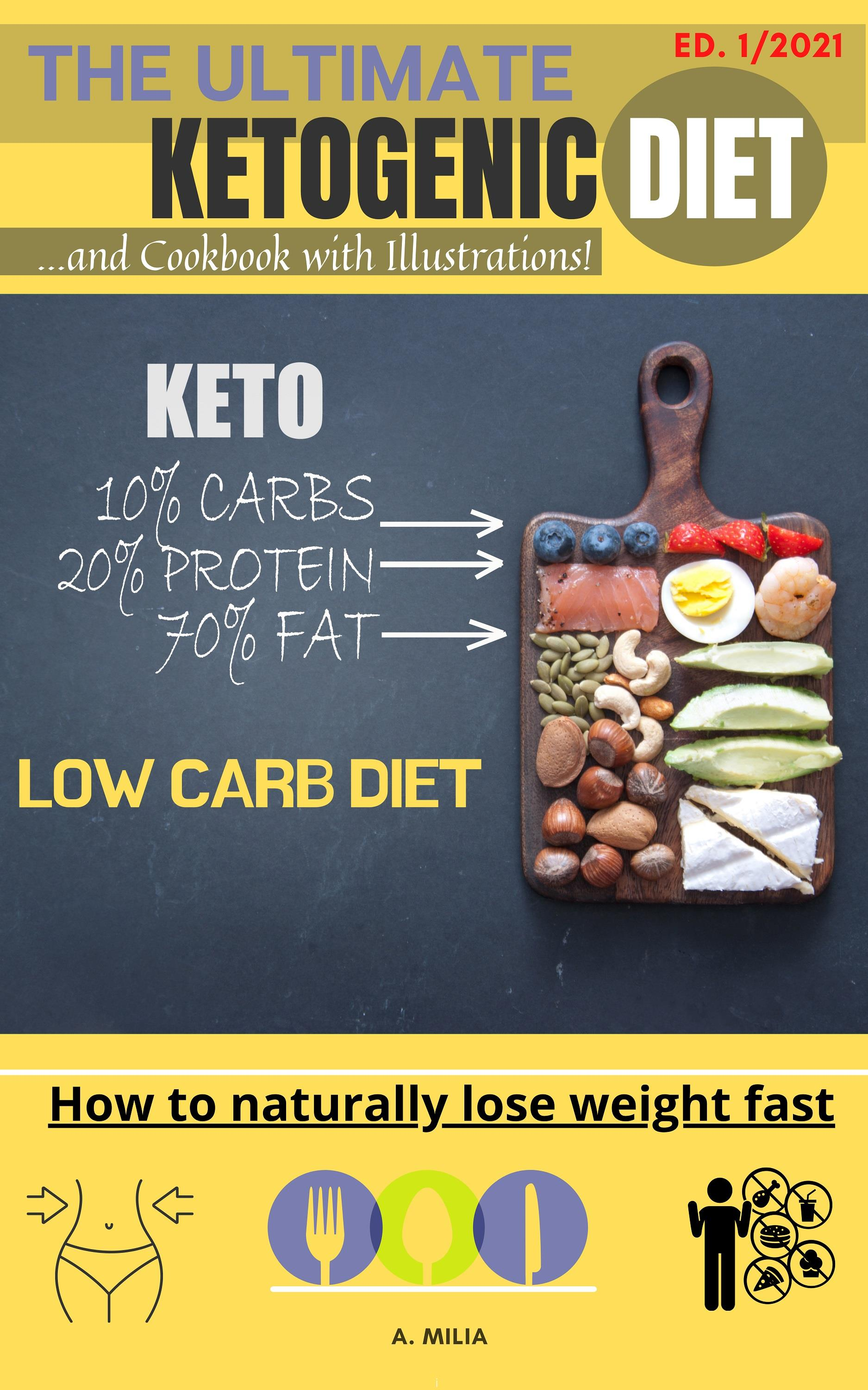The ultimate ketogenic diet...and cookbook with illustrations!